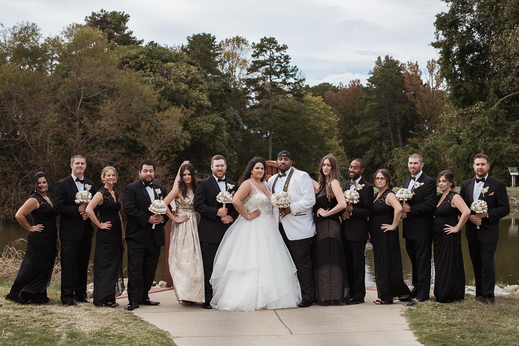 Wedding Party Charlotte Wedding Photographer