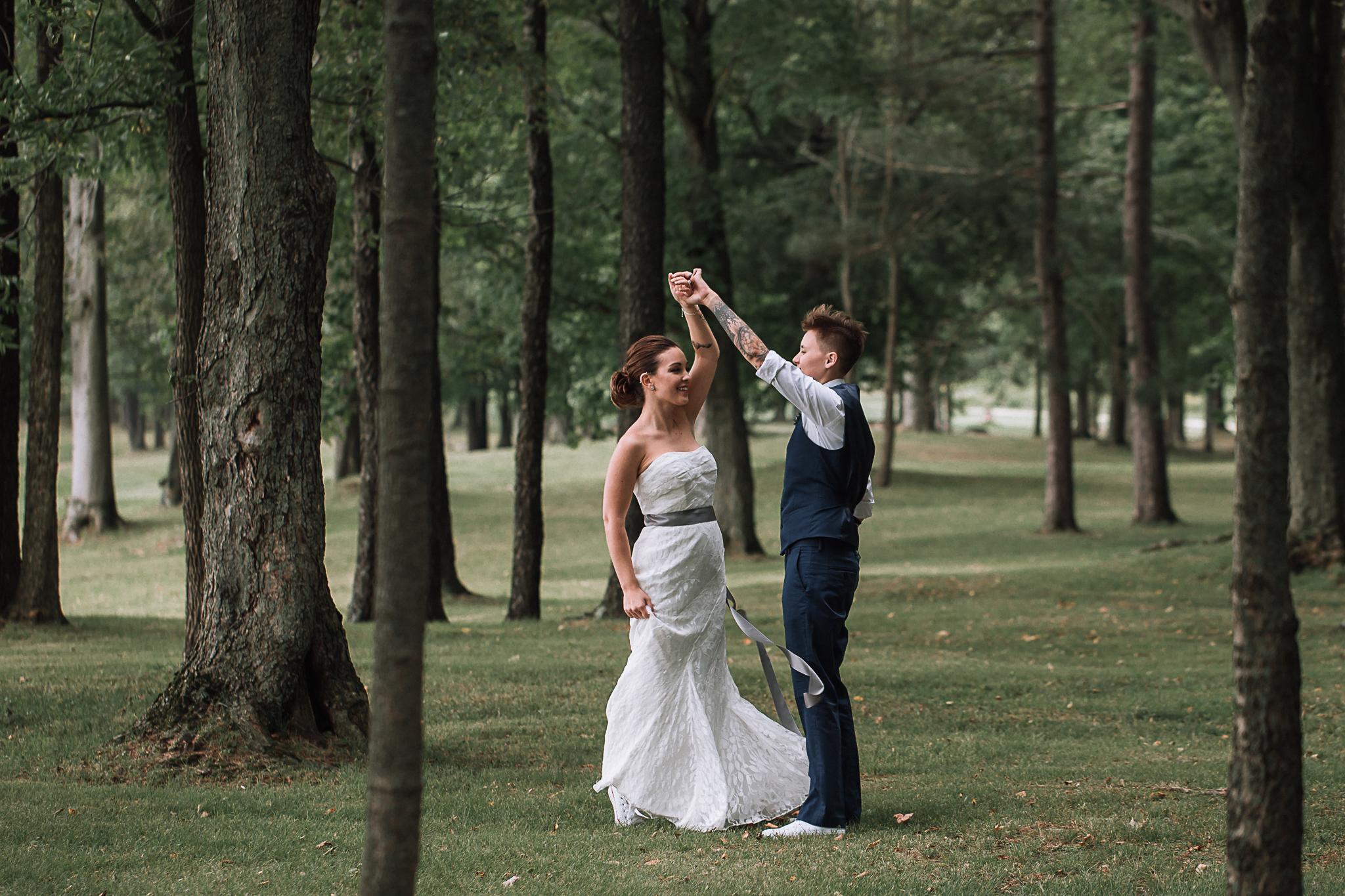 Same Sex Wedding Charlotte Wedding Photographer