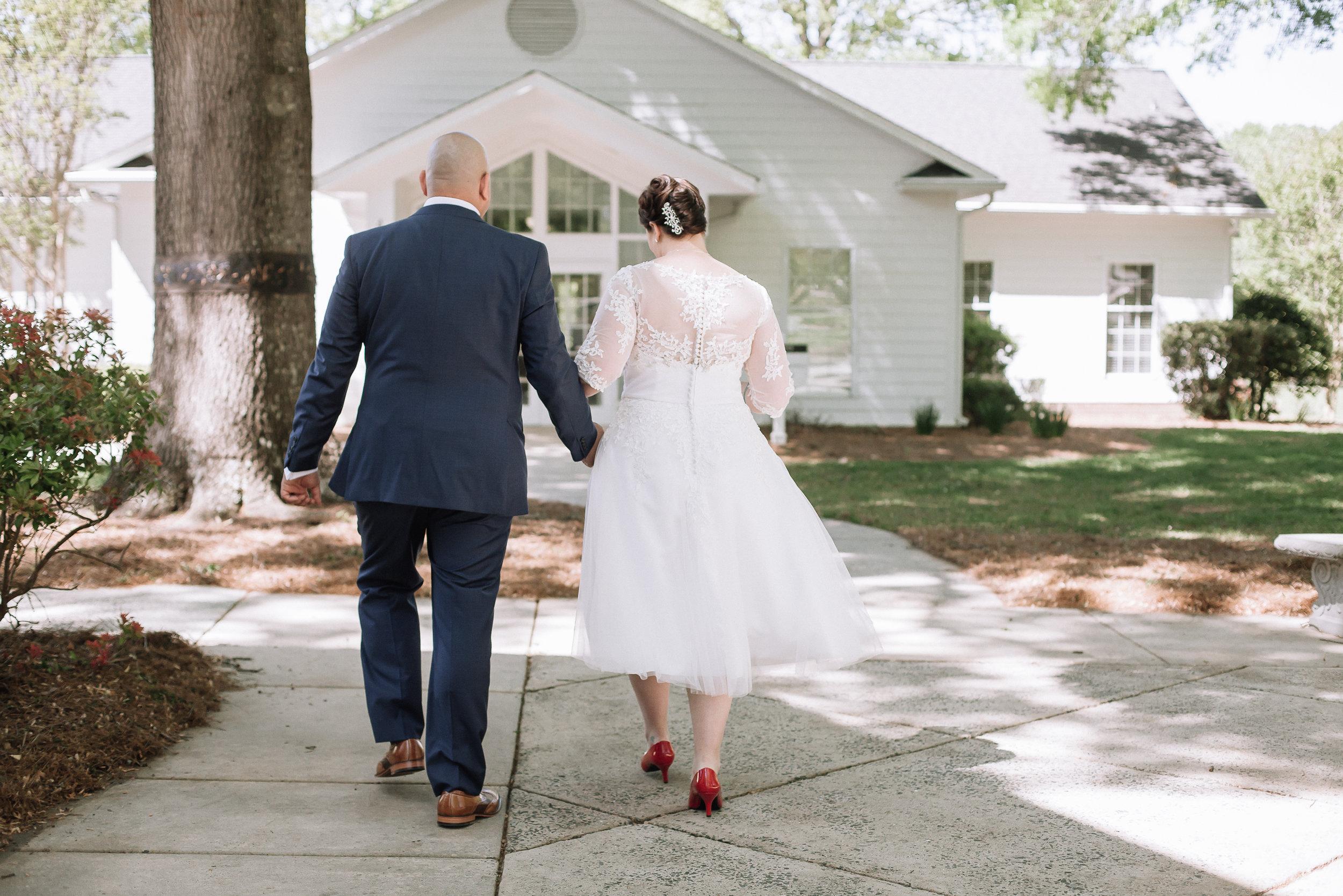 Intimate Charlotte Wedding