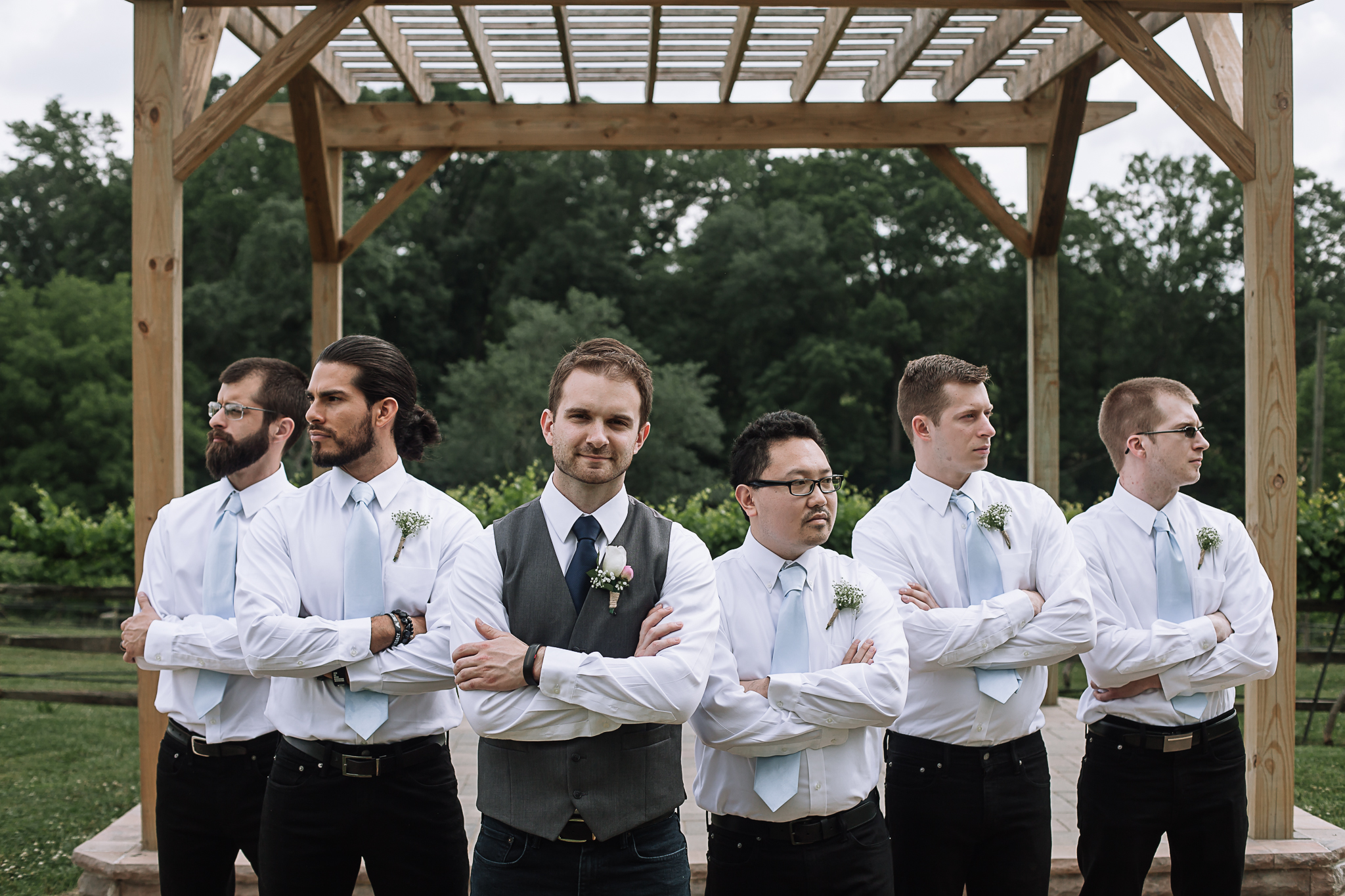 Wedding at Treehouse Vineyards