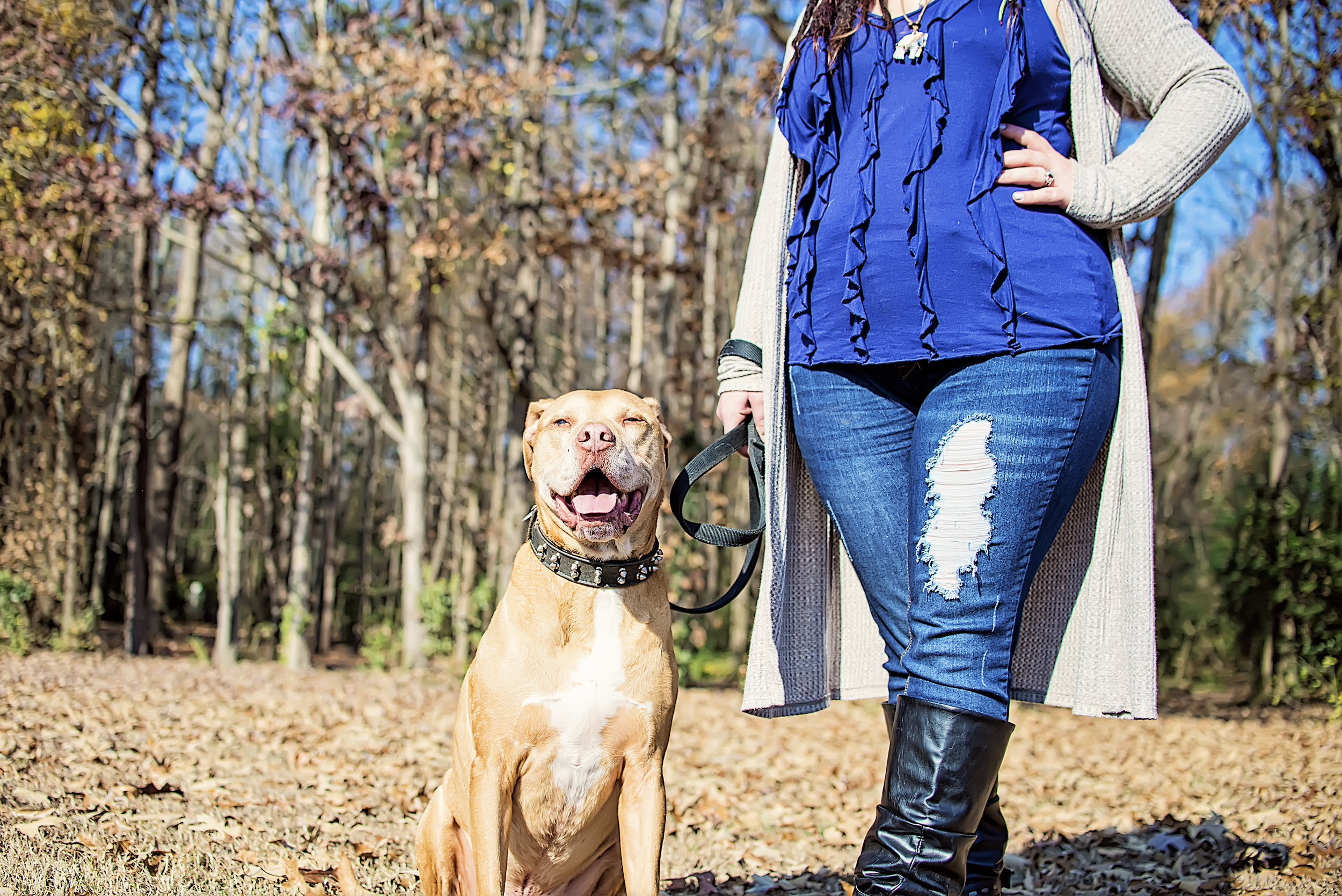 Me and my first dog, Judge. He is now about 10 now and I just love him more than ever.  Photo by  Piece of Py Photography