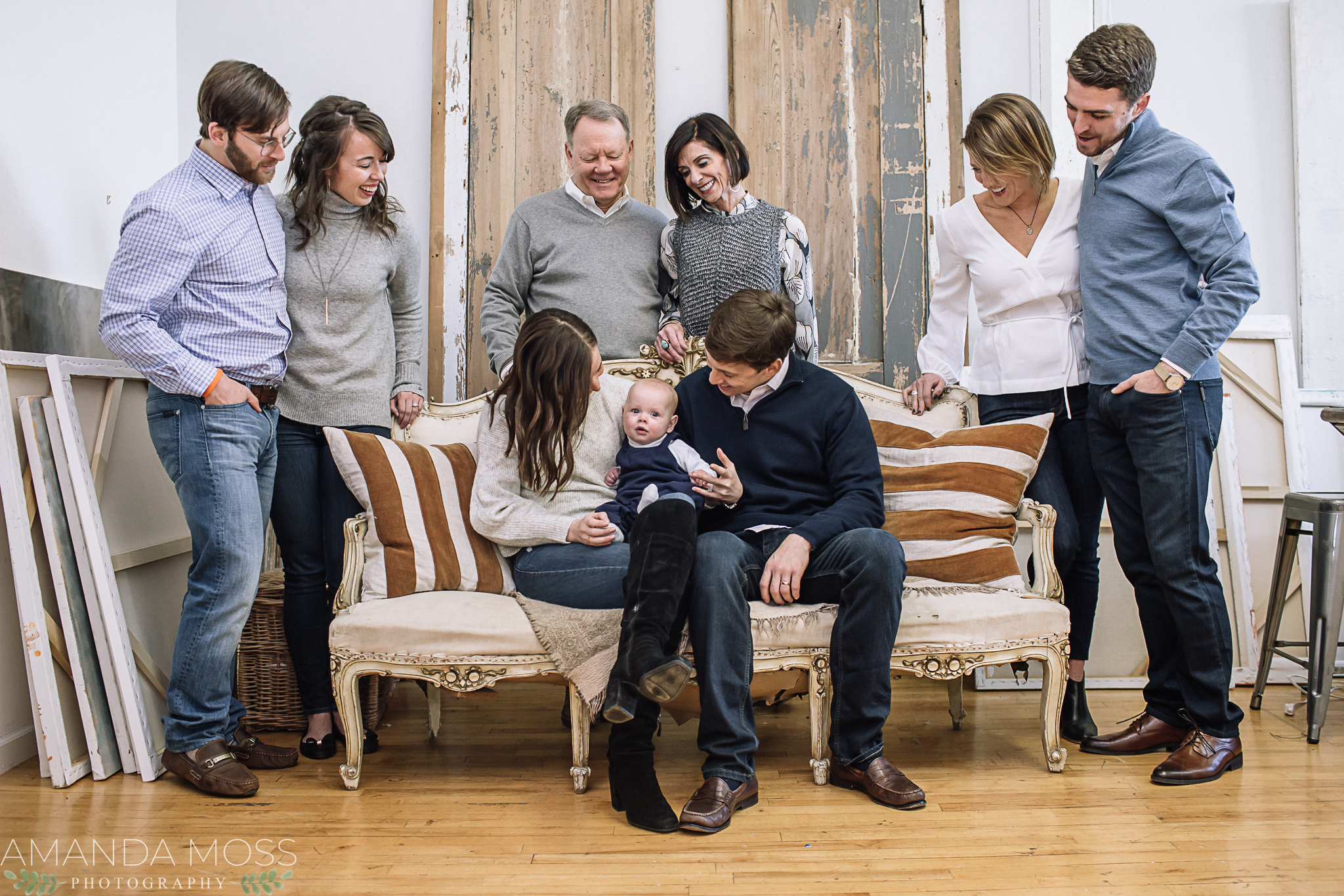 charlotte north carolina family photographer extended studio