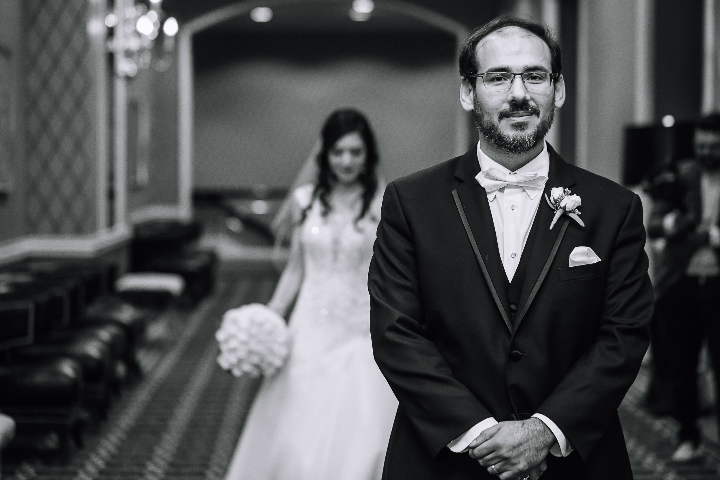 charlotte north carolina wedding photographer le meridien hotel