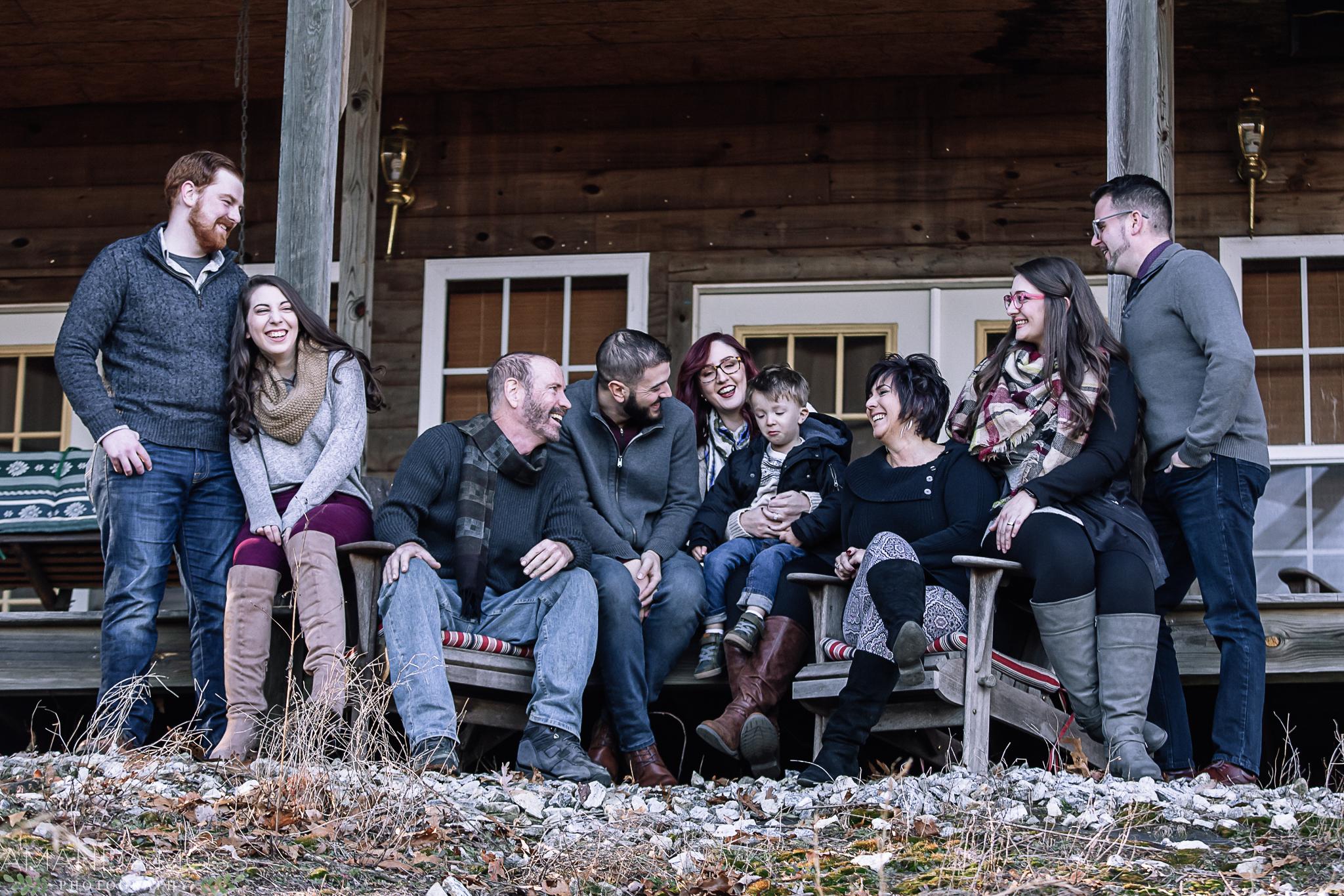 charlotte north carolina family photographer extended family