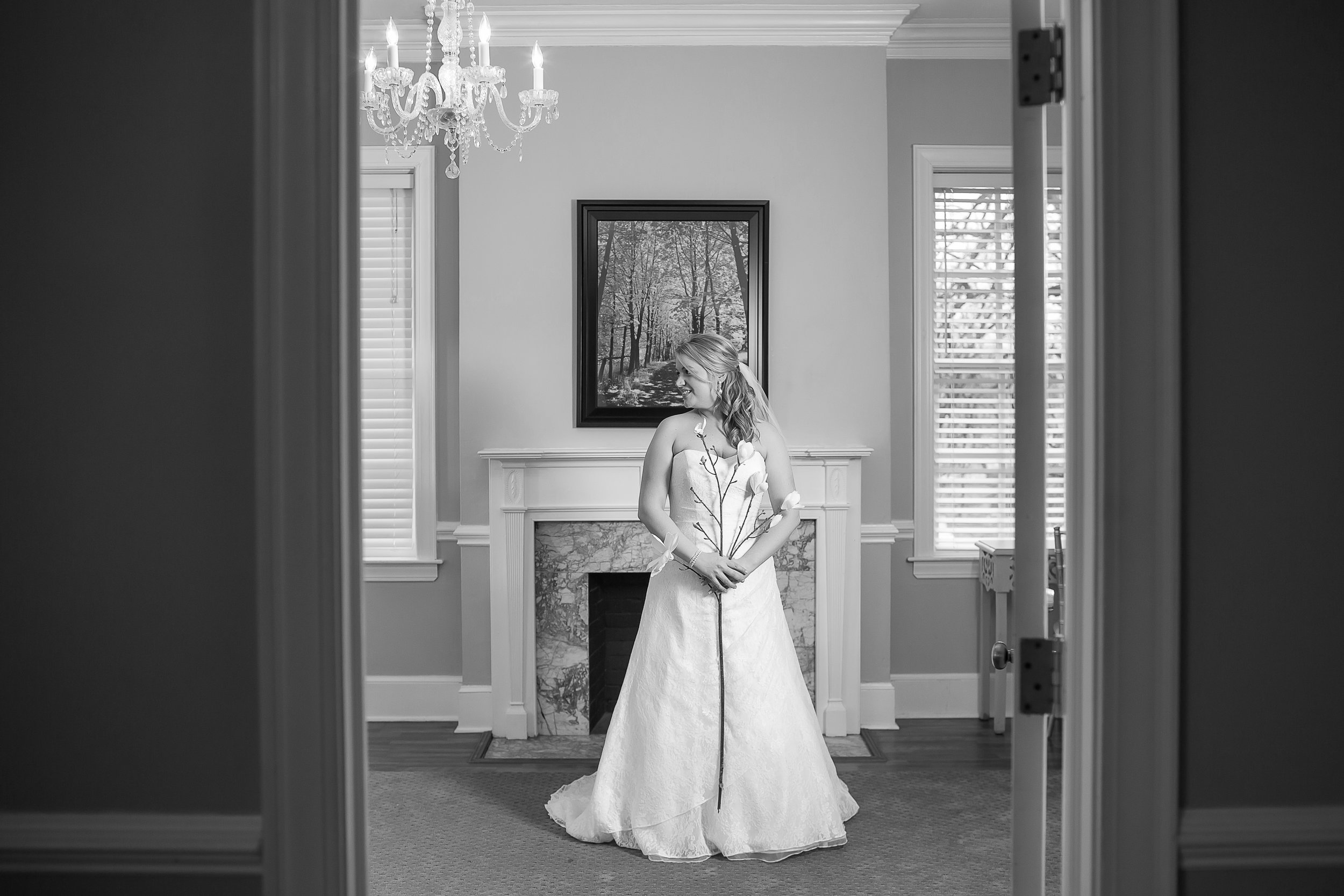 charlotte north carolina wedding photographer separk mansion bridal session