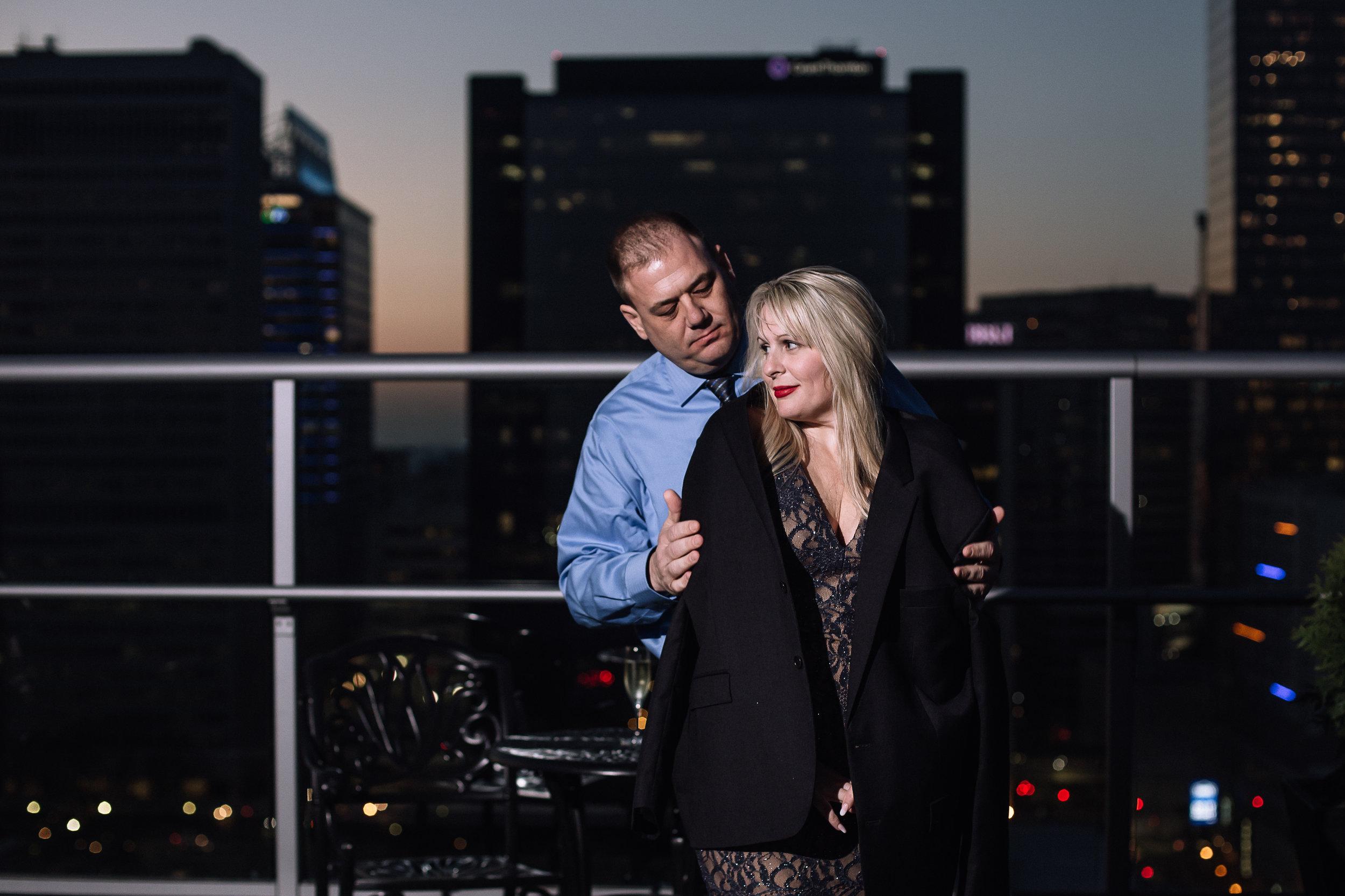 charlotte north carolina wedding photographer surprise proposal fahrenheit