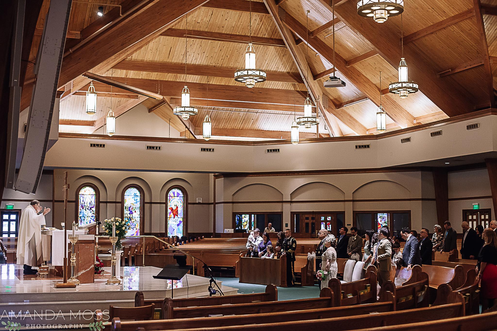 charlotte north carolina fort mill south carolina wedding photographer catholic intimate