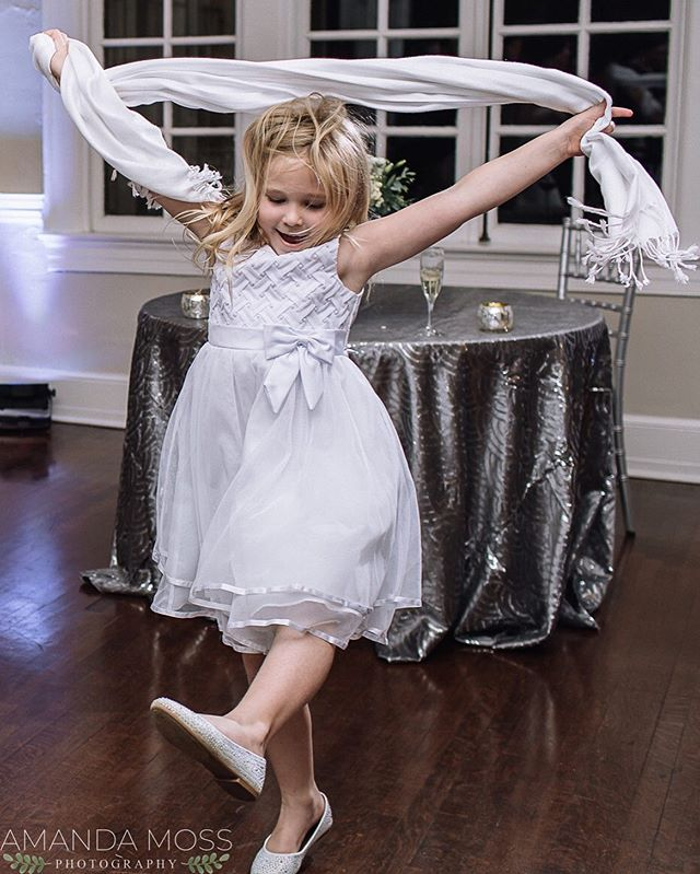 If you don't have THIS much fun today, you're Saturdaying all wrong. . . . . . #saturday #saturdaying #dancelikenooneswatching #dancethenightaway #dancingqueen #weddingreception #receptionfun #momentslikethese #capturingemotions #capturinglife #charlotteweddingphotographer #amandamossphotography #dancingkids #toomuchfun #separkmansion #weddingnight #pleasedontstopthemusic #wedding #flowergirl #flowergirldress #follow #weddinglife