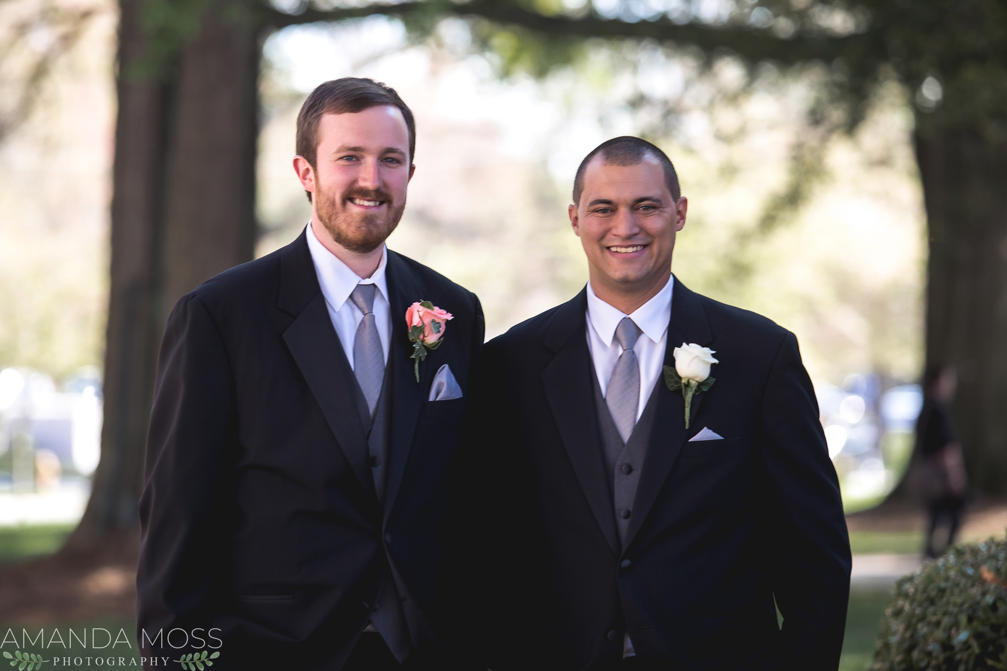 charlotte wedding photographer downtown wedding belk chapel byron's south end spring april