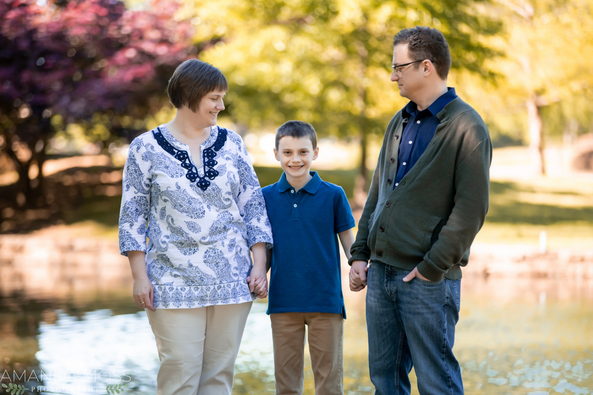 charlotte north carolina portrait family photographer extended session freedom park
