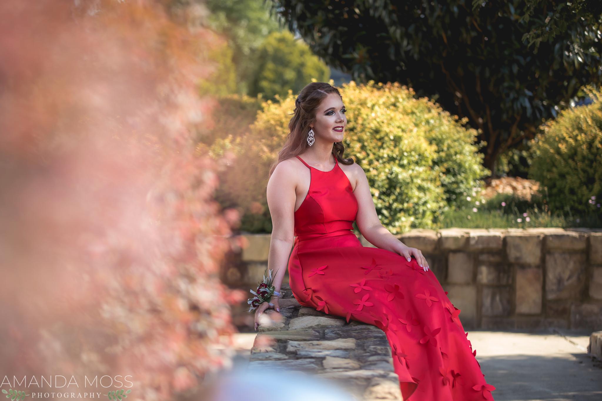 charlotte north carolina portrait photographer prom session midtown park spring
