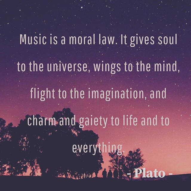 """Music is a moral law. It gives soul to the universe, wings yo the mind, flight to the imagination,and charm and gaiety to life and everything "" What do you think? Do you agree with Plato? And what's your favorite kind of music? . . . . #travel #athens #tour #plato #philosophy #music #inspirationalquotes #quotes #quotesoftheday #life #photooftheday #quoteoftheday #goodvibes #positivevibes #instagood #bestoftheday"