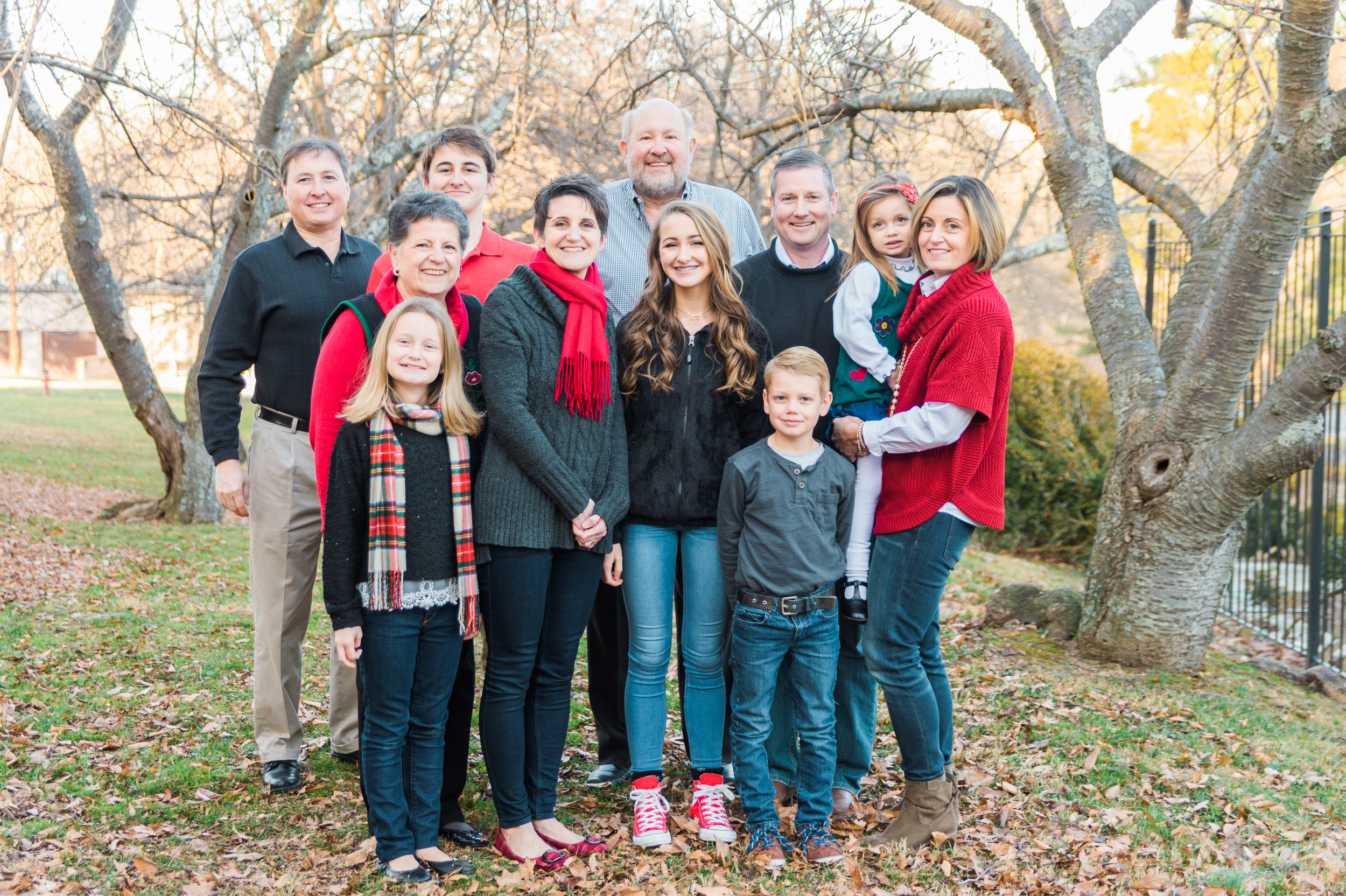 Glenview Mansion Family Portraits.