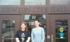 Cardinal Creek_student Emily Bollhoefer and teacher Courtney Wolken.jpeg