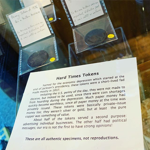 Original Tokens when private money ruled the USA. #tokens