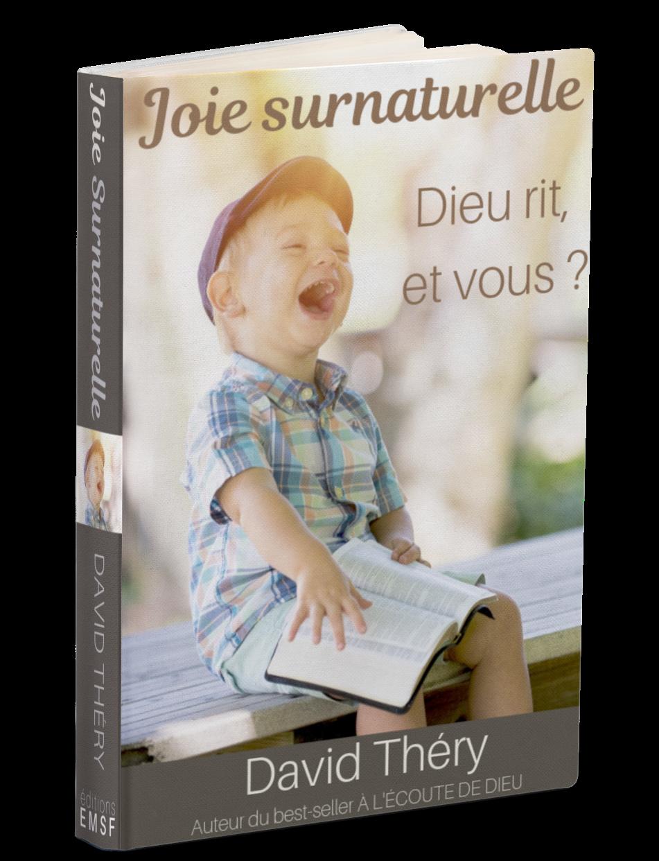 Saviez-vous que Dieu est joyeux ? Il rit !  Sa volonté est que nous partagions sa joie. Plongez dans les Écritures pour découvrir la source de la joie surnaturelle qui est disponible pour chaque enfant de Dieu au travers de ces 73 méditations.  Découvrez les mensonges de l'esprit religieux qui essaie de vous priver de votre joie !