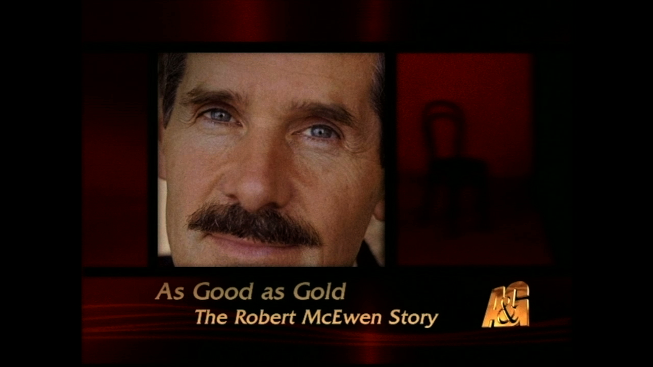 Mining exec Rob McEwen was honoured with an A&E-style Biography.