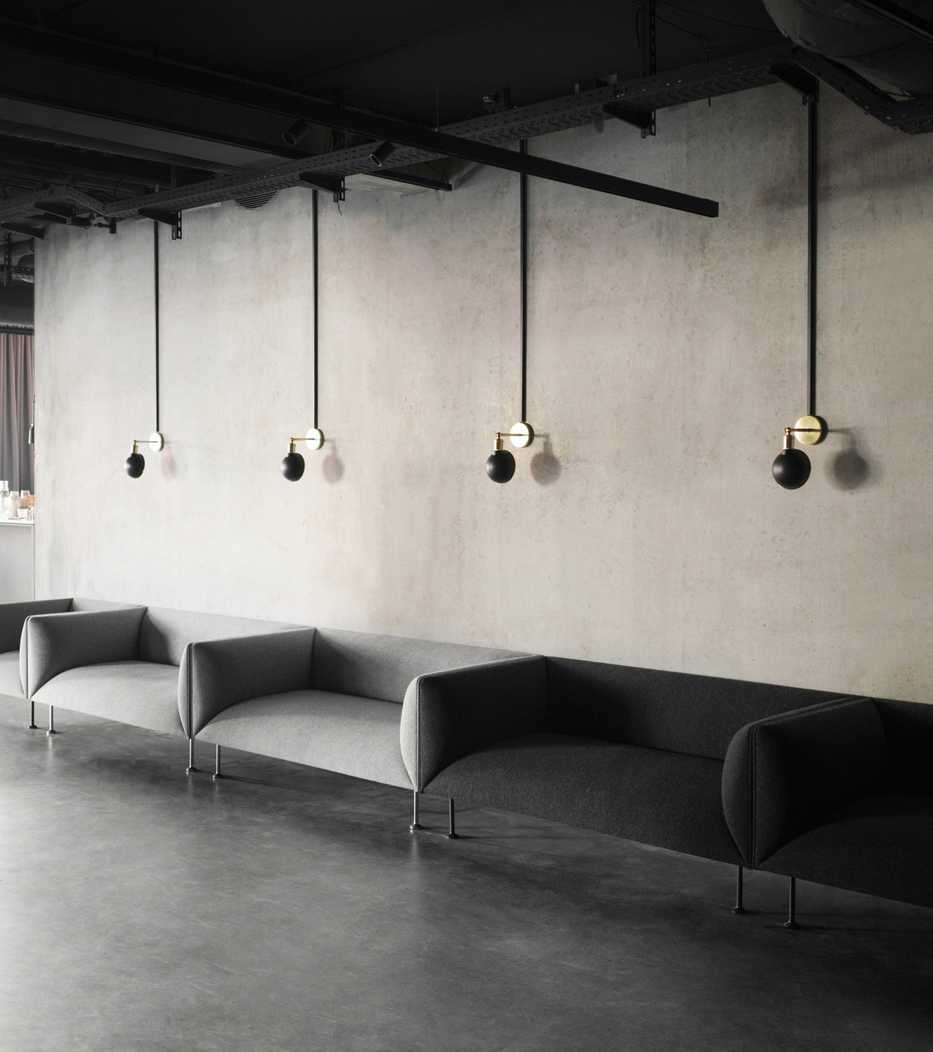 walker wall lamp - Tribeca Series for MENU