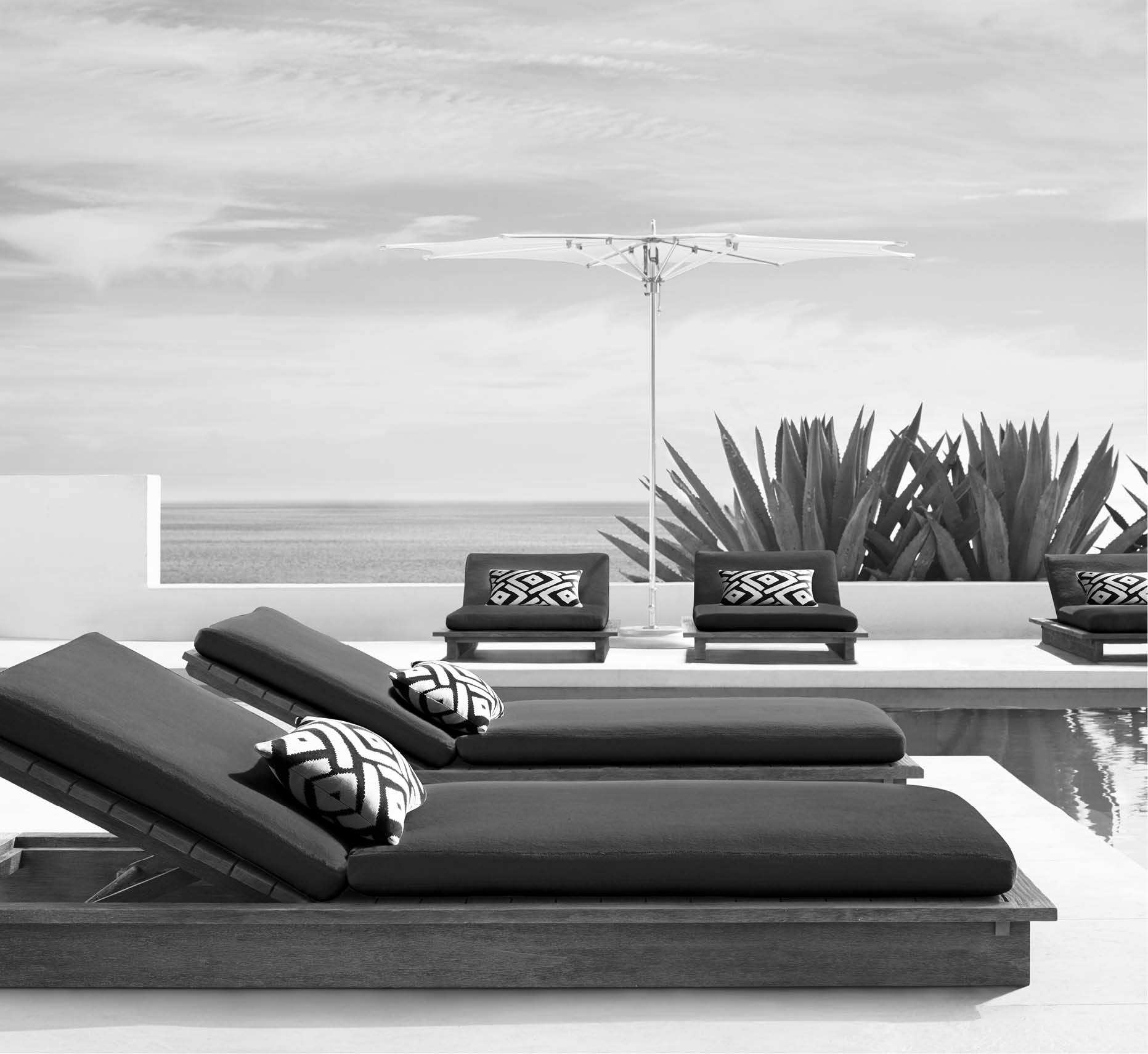 maldive collection - Outdoor Collection for Restoration Hardware