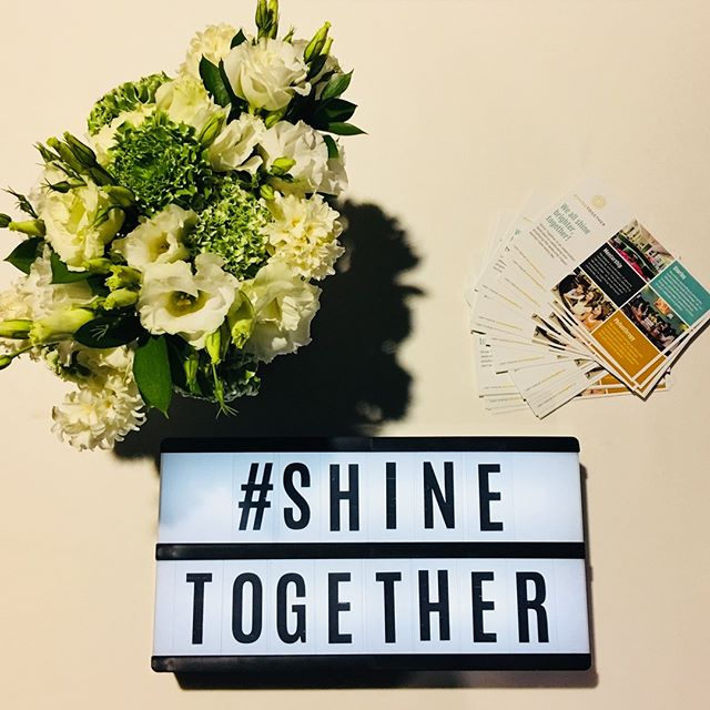 At #USOW2018 today? Stop by our booth. We'd love to see you! #ShineTogether #ShineOn