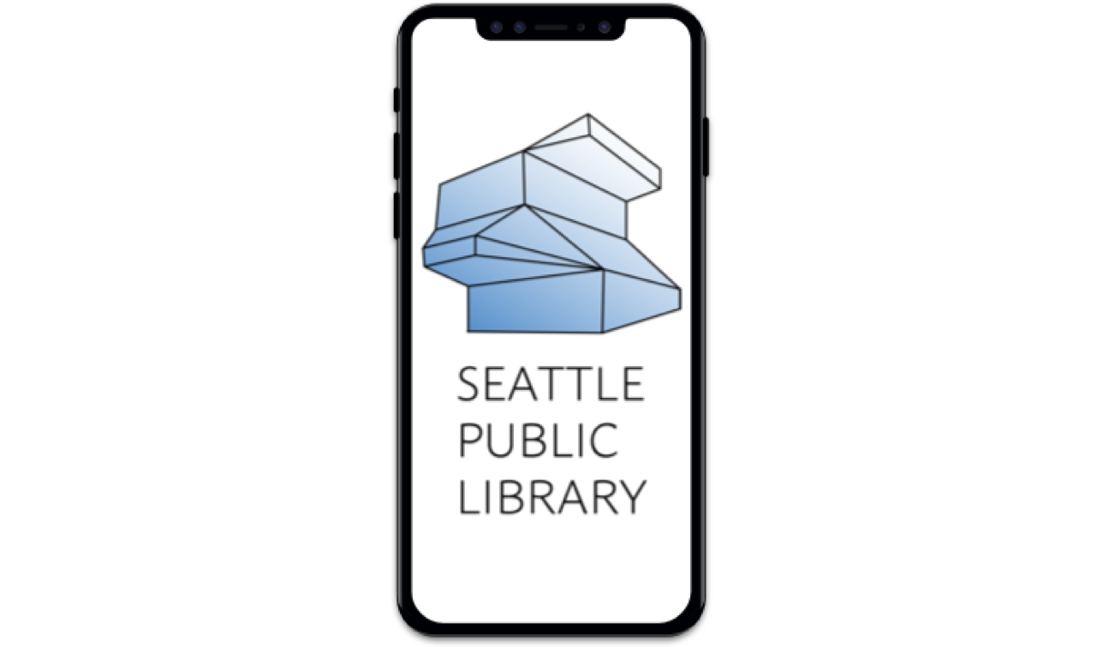 Seattle Public Library - App redesign concept