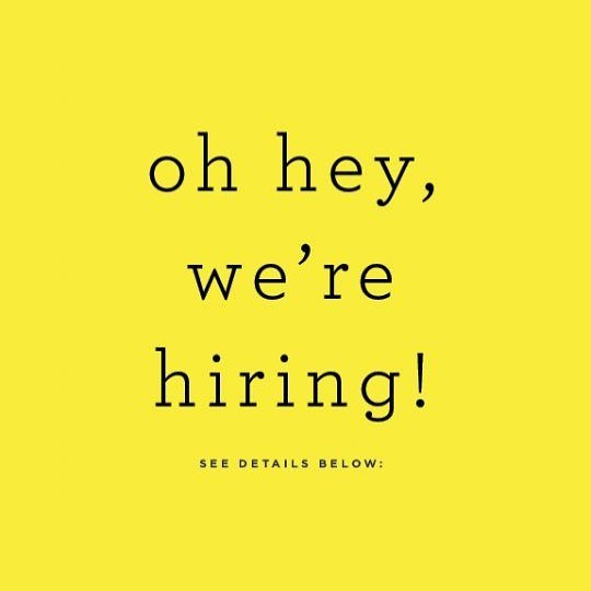 •Enthusiastic • energetic • hard-working • multi-tasker • outgoing • if this describes you or anyone you know please join us for open interviews for large and small event catering, bartenders, cooks and server positions this Sunday, May 5 @ 2:30pm at our sister restaurant, Evans Street Station, located at 110 S Evans Street, Tecumseh. Can't make it but want in on the action? Contact Gretchen @ 734.272.6489 or gspeidel@ghcatering.net