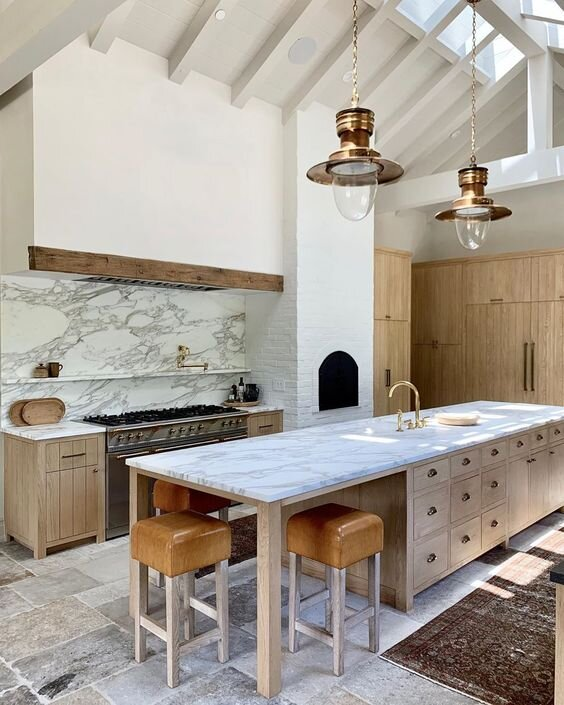 Kitchens With No Upper Cabinets Pretty Little Space