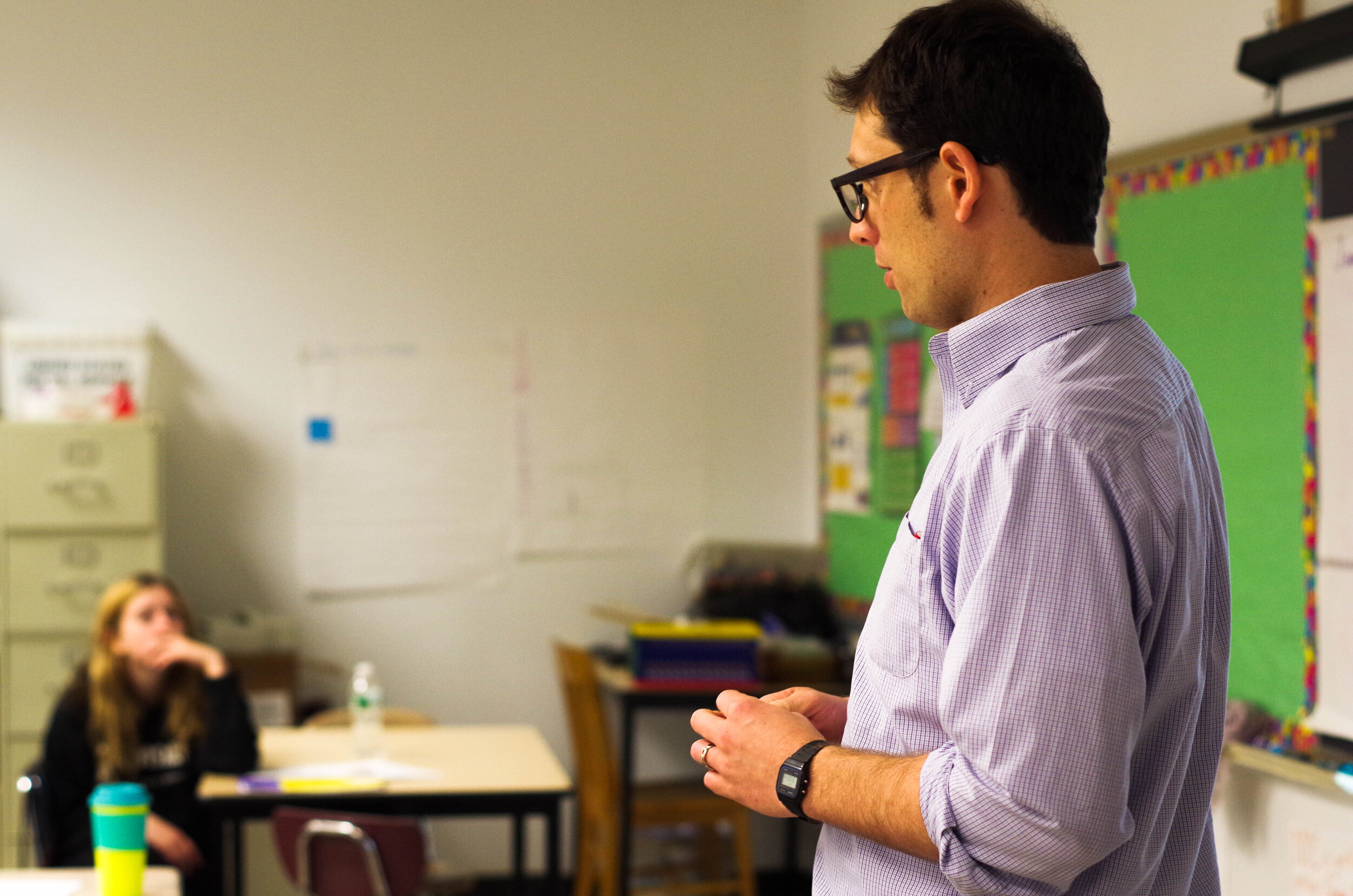 America Achieves Fellow John McCrann used his experience teaching high school math to write a regular blog for Education Week.