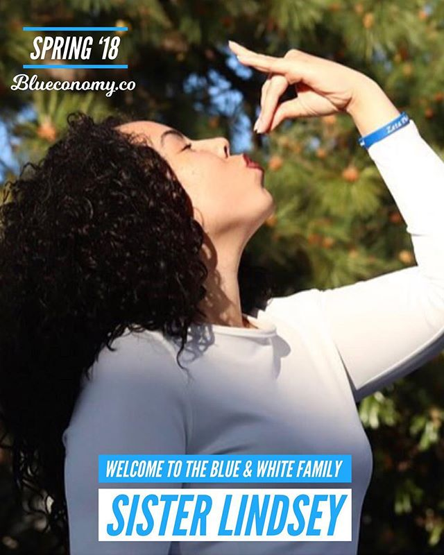 Congratulations to our so sweet Sister Lindsey Bianca Miles on joining the blue & white family SPR '18! She is an employee for the city of Hampton, a full-time student, and a proud lifetime member of Zeta Phi Beta Sorority Inc. !! 💙💙💙 @_lindseybianca_ . Tag and comment your FALL '17 / SPR '18 Zeta and Sigma Sandz and Neos so we can congratulate them! . In honor of all brothers and sisters who crossed FALL '17 / SPR '18, we are gifting 2 months free Blueconomy memberships to all neos who recently joined our family. DM us for more details. —- @blueconomy was created to help our blue & white family collaborate in a way we never have before. We help you stay updated on events, find and connect with brothers and sisters around the world, and support economic growth within our community. . We're building an economy that will empower thousands of women and men generations to come. Similar to how those who came before us built something to empower us. . If you believe in our mission, share with members of the blue & white family. 🤘🏽💙🕊