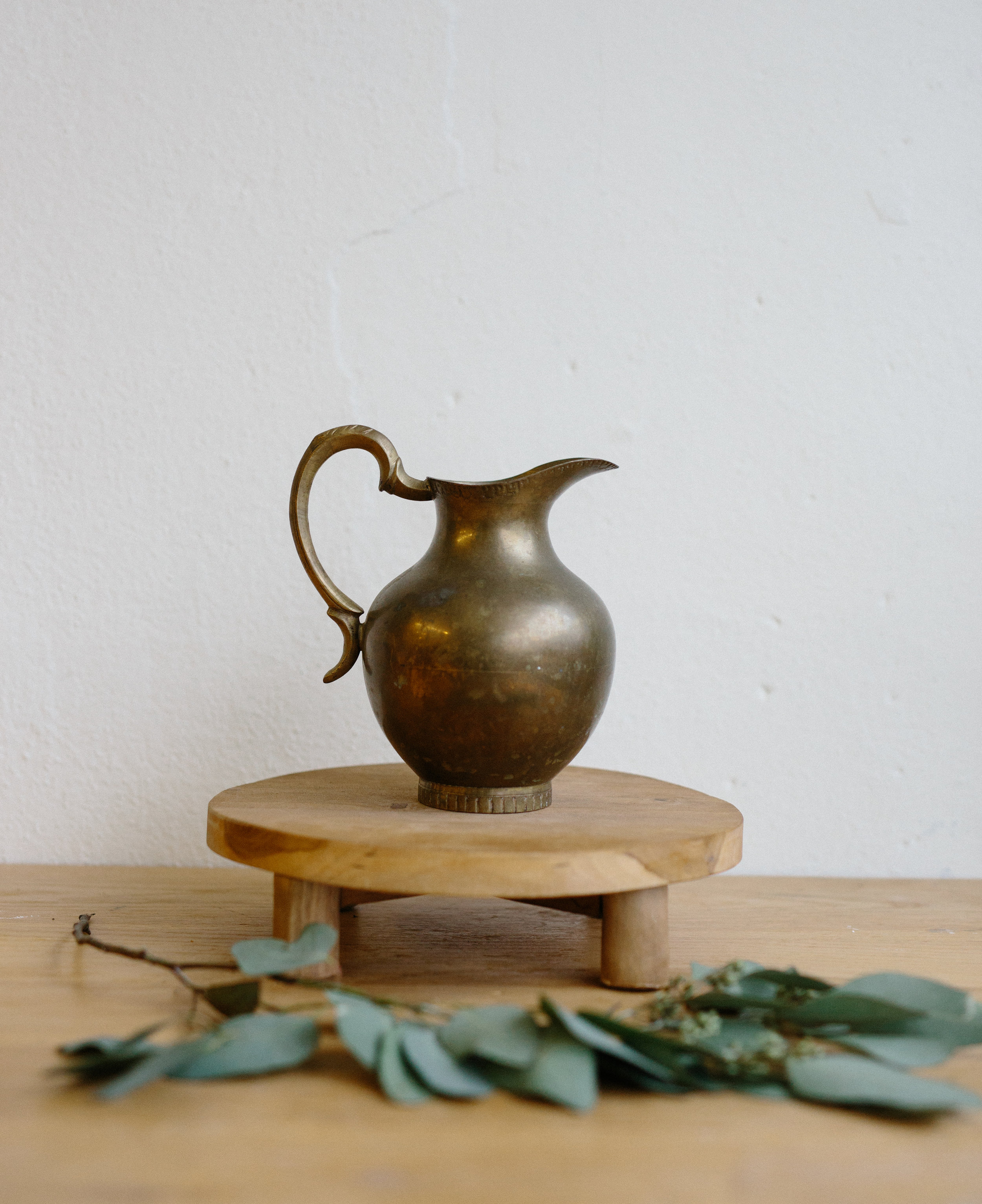 BRASS PITCHER // $8