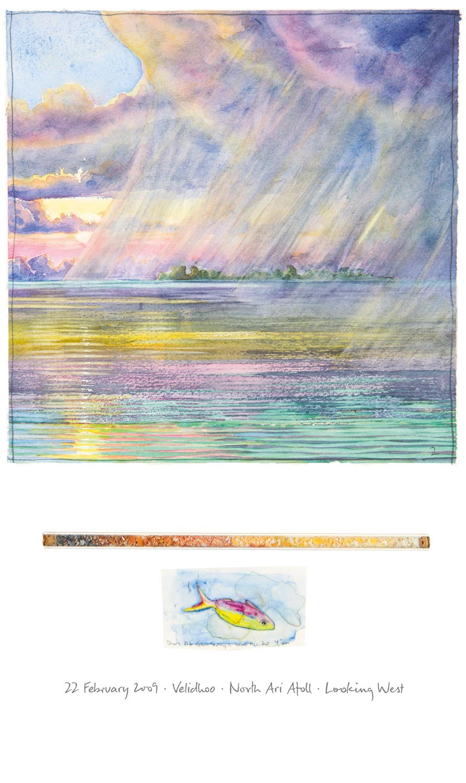Tony Foster ,  Velidhoo—North Ari Atoll—Looking West , 2009