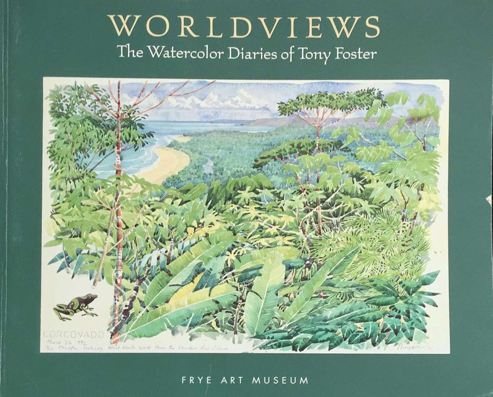 Worldviews: The Watercolour Diaries of Tony Foster (retrospective exhibition), 2000