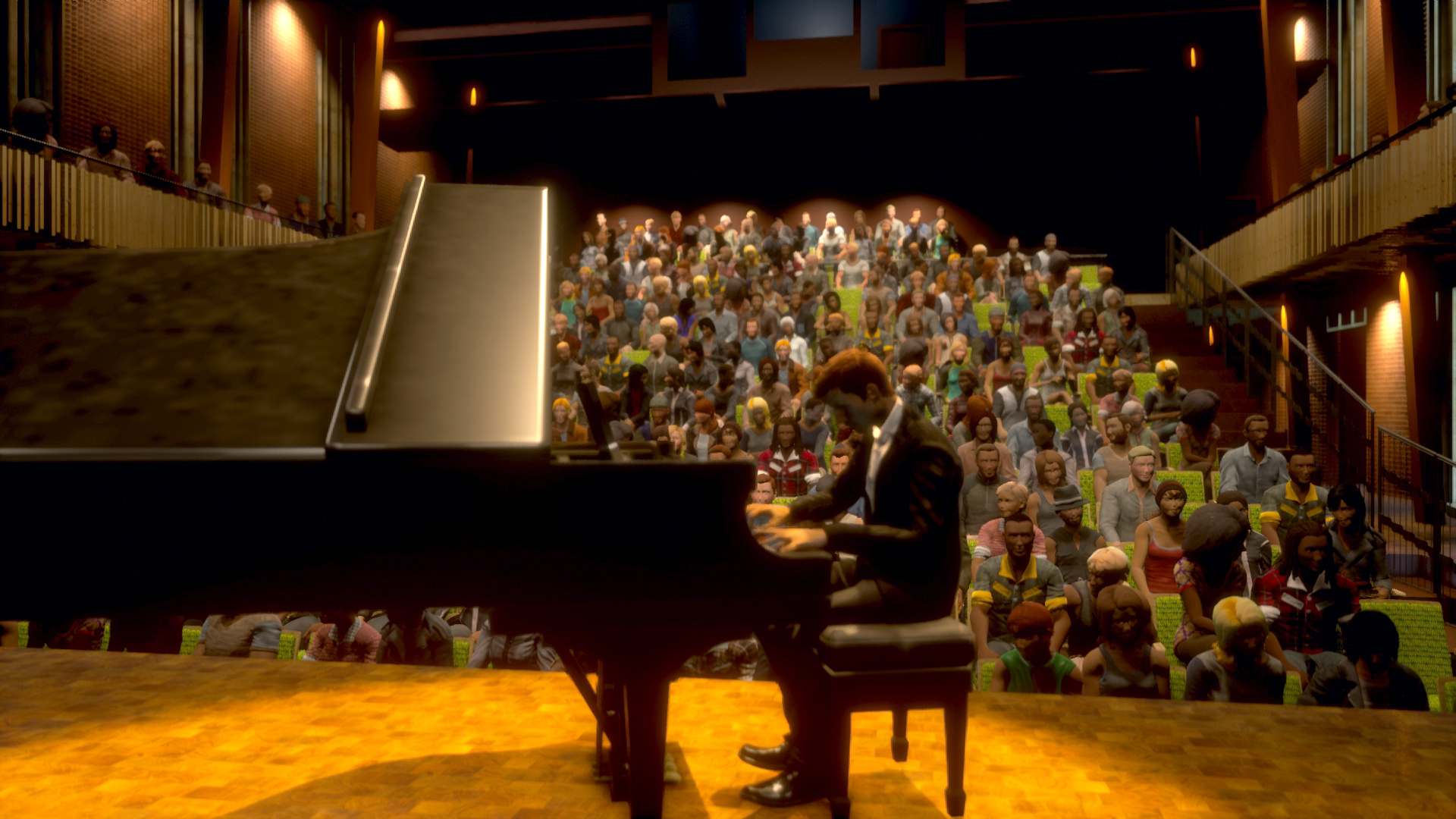 Piano Concert in the Flexible Theatre