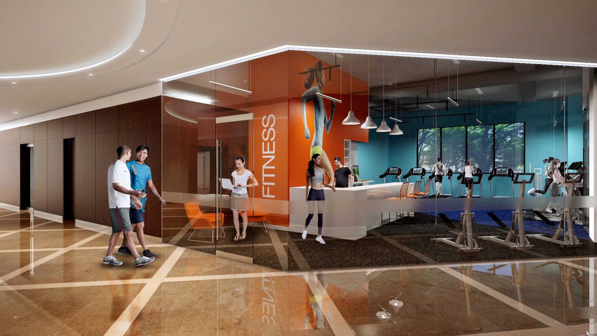 Office Amenity, Fitness Center