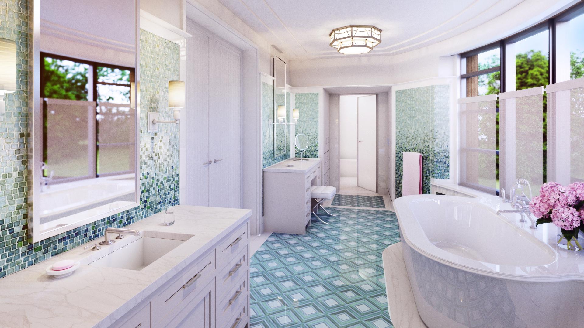 Private Estate, Bathroom