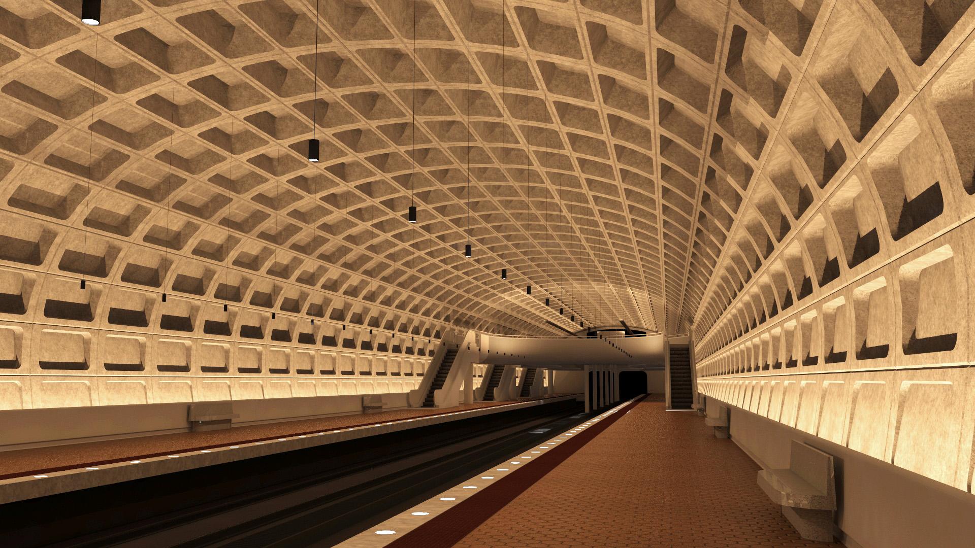 WMATA Metro Station