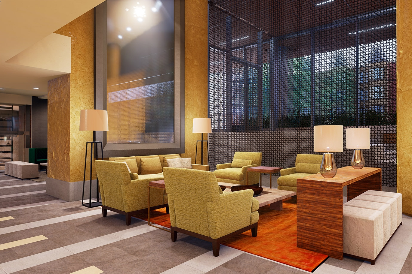 Luxury living at 2501 - 3D Rendering, Animation, VR