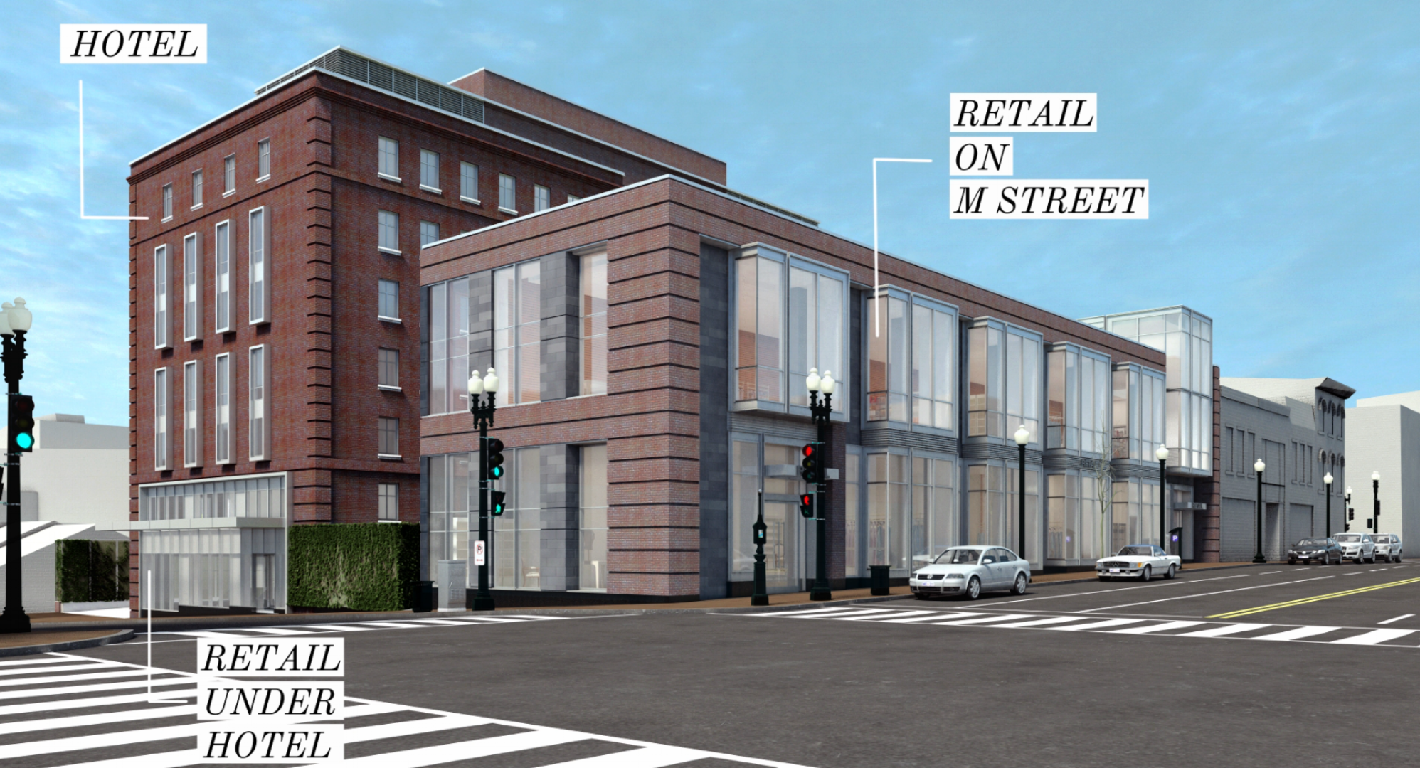 Urban Mixed UseGeorgetown Redevelopment - with Thor Equities