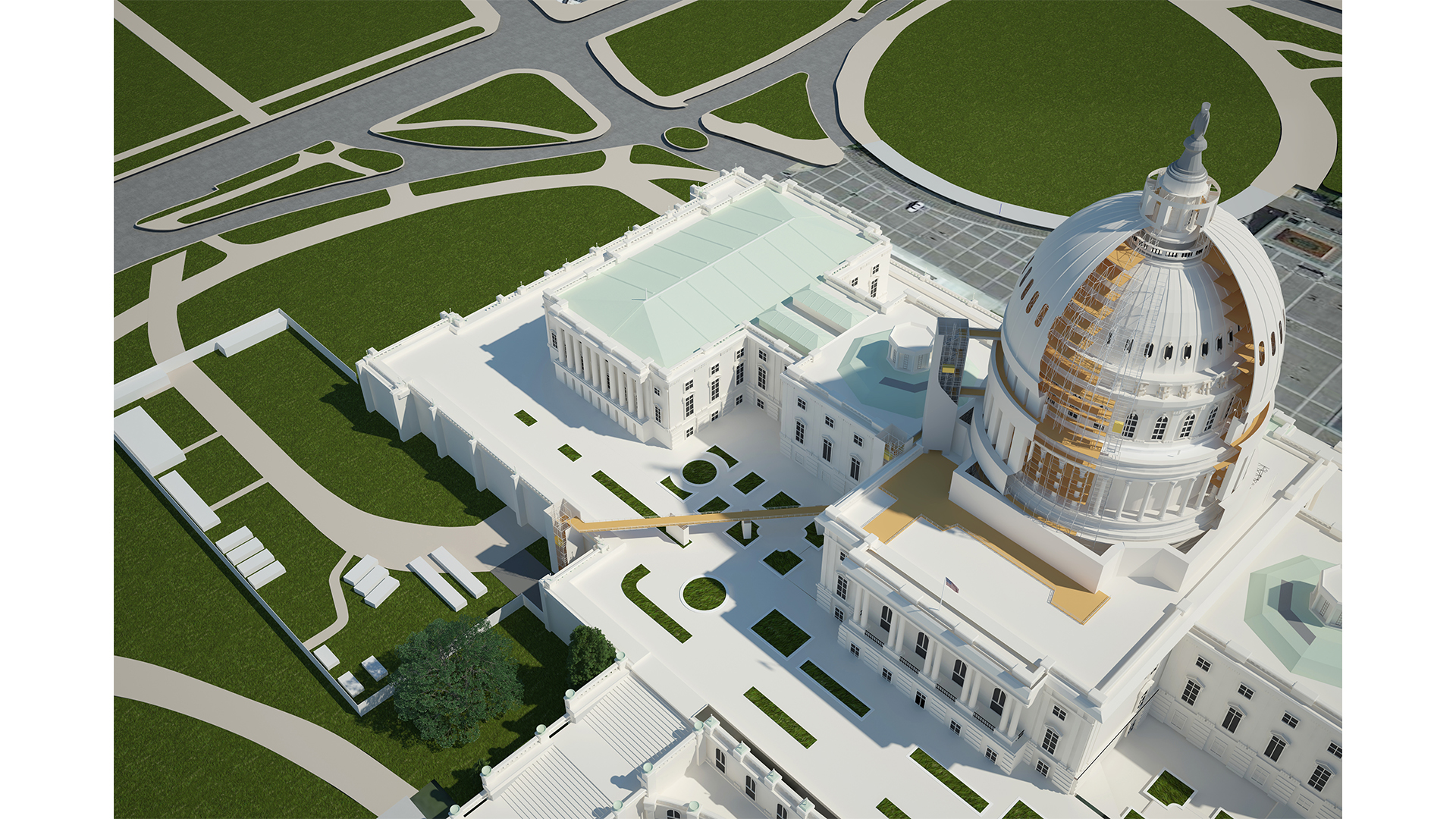 IMD_Rendering_Government_1183_US Capitol Dome Rehabilitation_Aerial View_Review_3_Pealed Away.jpg