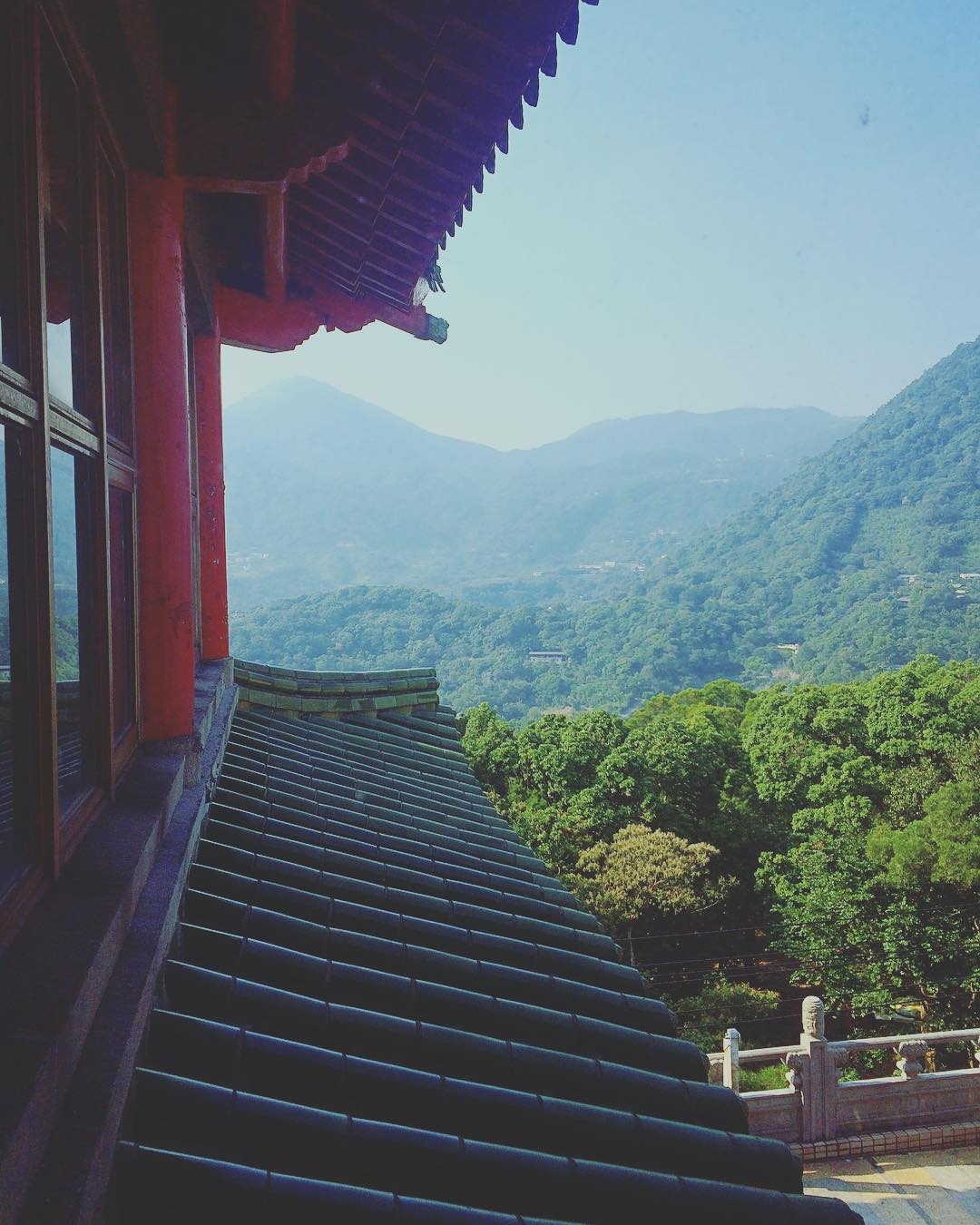 Another shot from my research trip to Taiwan for THE ASTONISHING COLOR OF AFTER. Leigh's mother, as a music student at the Chinese Culture University, would often have paused to gaze out the window at this exact view.