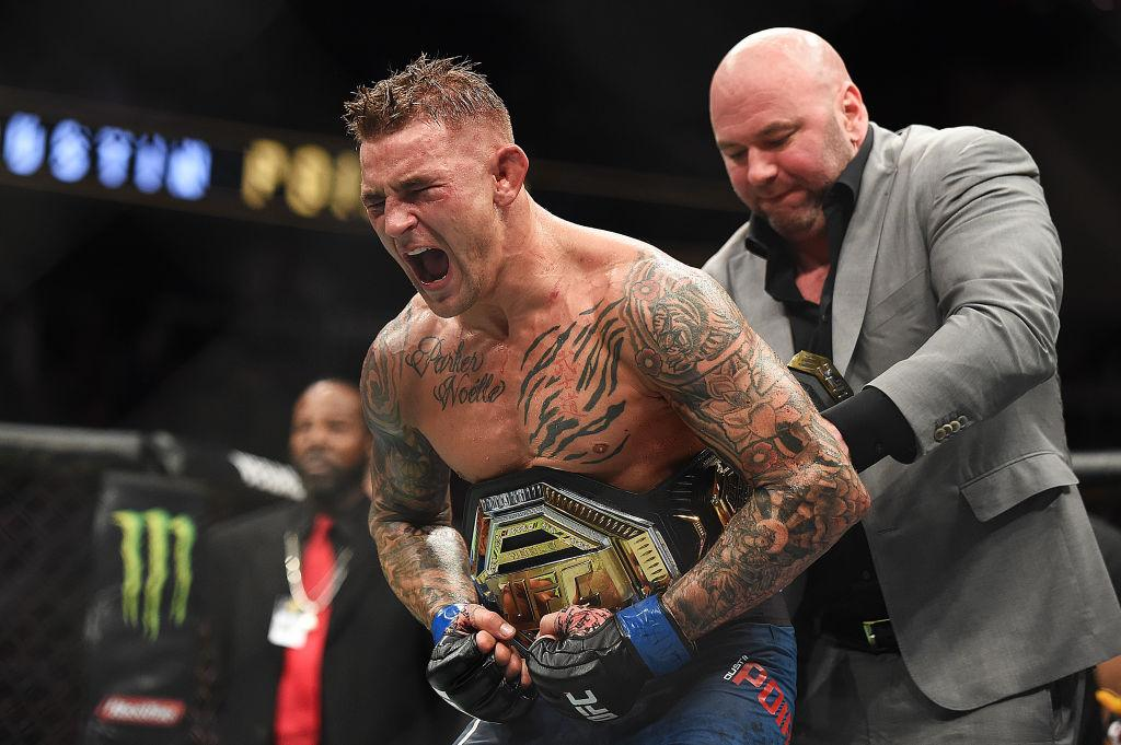 MMA Champion Dustin Poirier relishes the moment when all his hard work, dedication, and commitment to his dream was paid in full. Now he sets his sights on an even bigger fight, a fight for people.