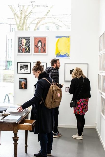 Foto fra utstillingen til B-Open / Tove Lise Mossestad