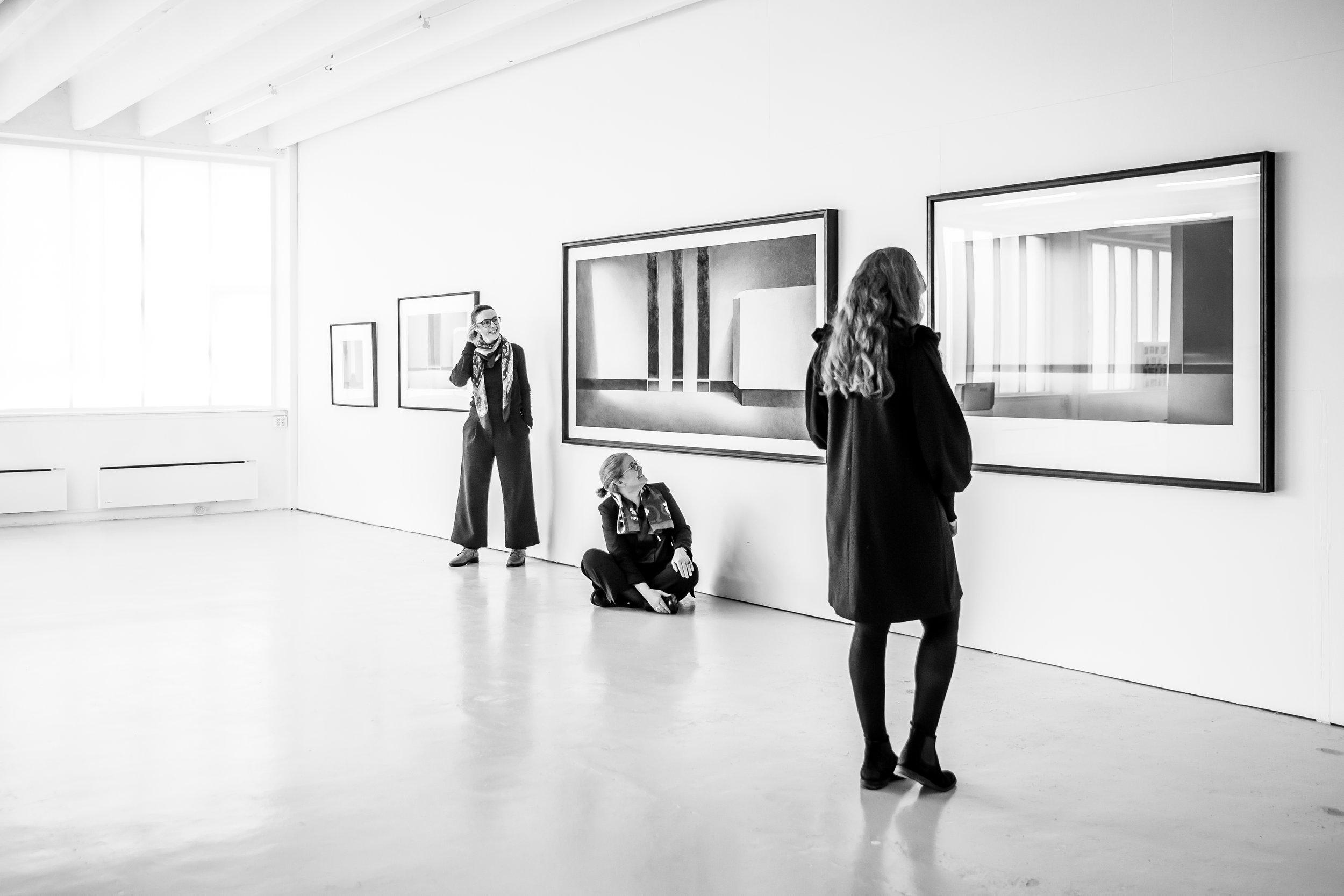Det er Kunstgarasjen som er kurator for årets kunstutstilling i Grieghallen, 25.-27. oktober.