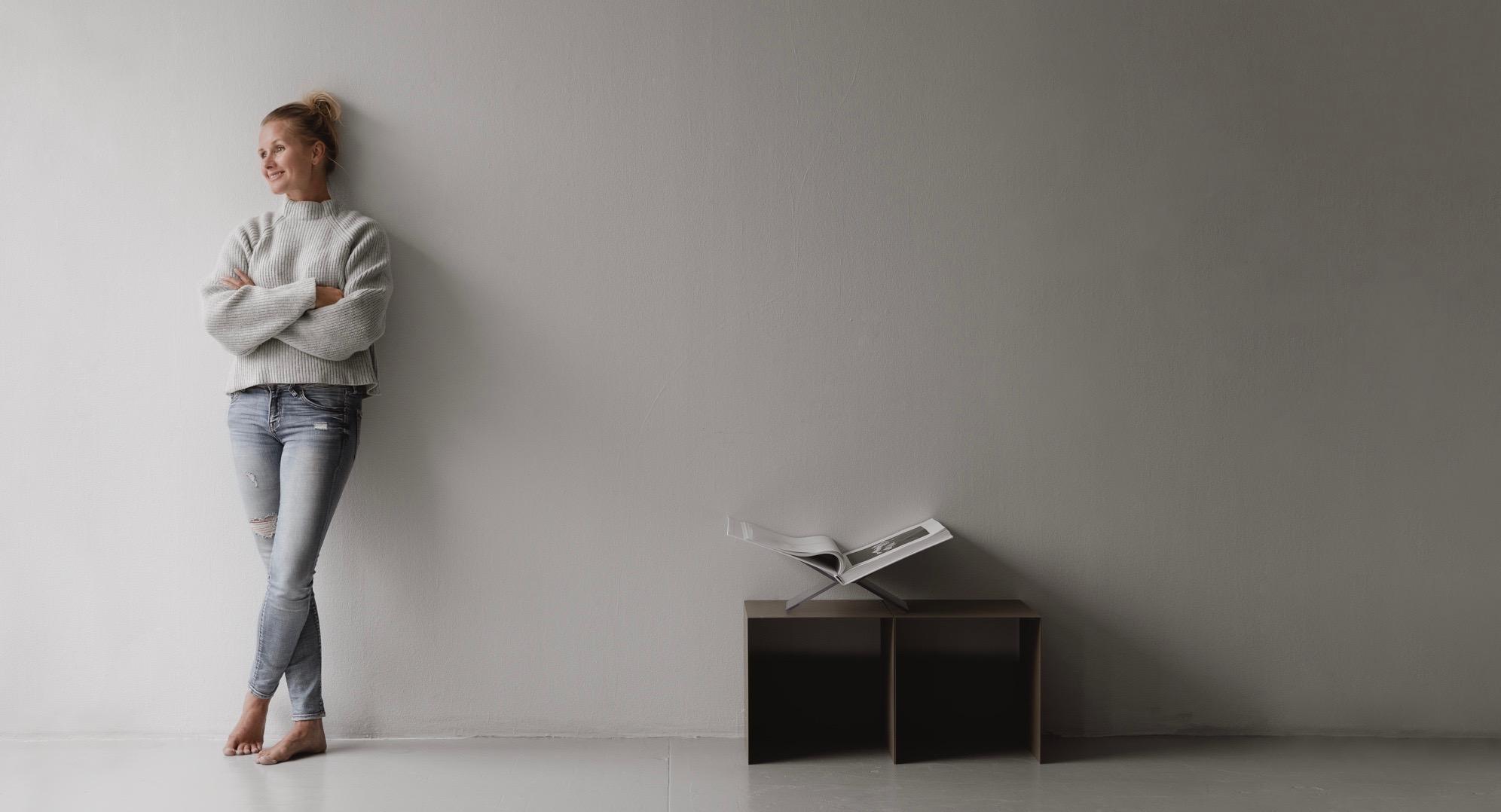 Svenske Pella Hedeby driver insporasjonsbloggen, STIL INSPIRATION, og har den siste tiden også jobbet tett på populære Lotta Agaton. Til Bergen kommer hun med tog og ser frem til å holde årets trendforedrag med vekt på miljøspørsmål for engasjerte publikummere.  Foto: Alicia Sjøstrøm
