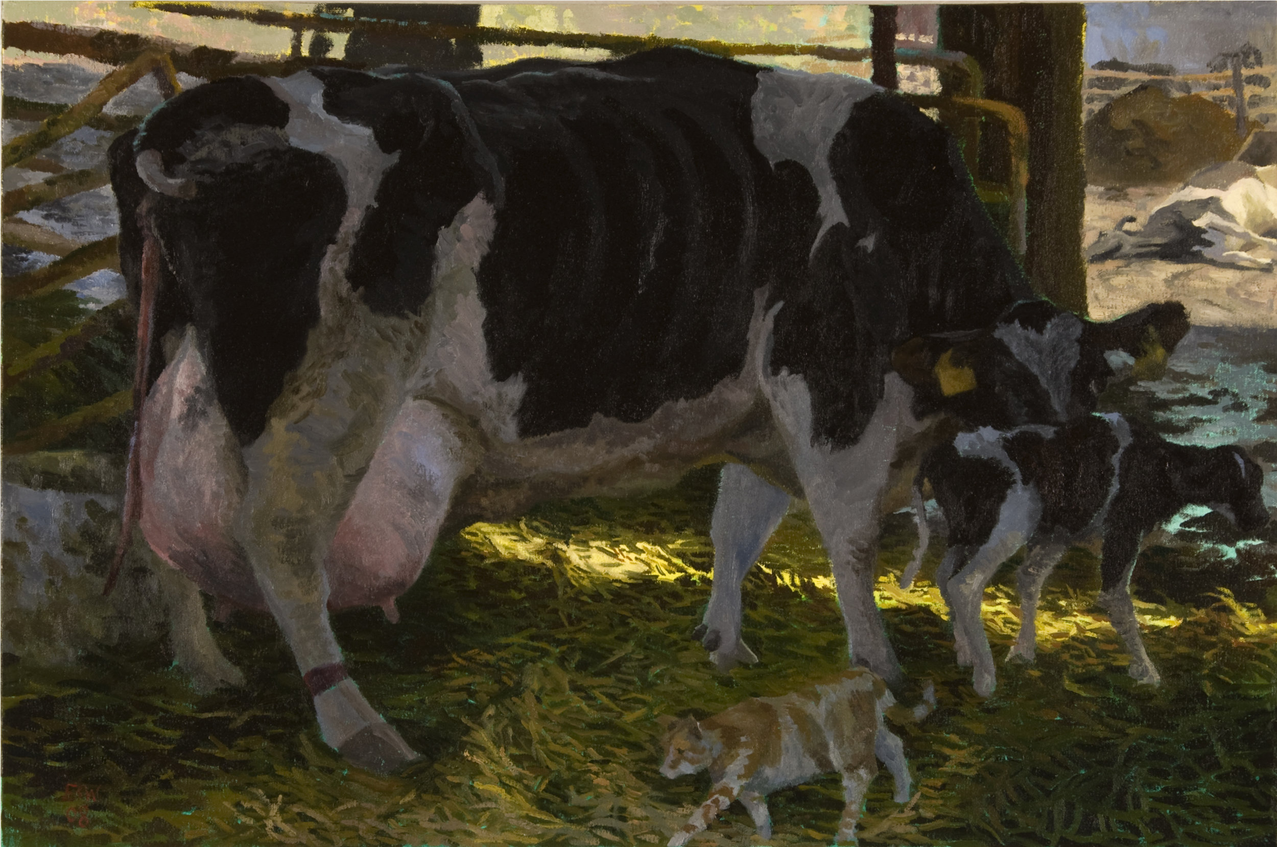 Cow and Calf Study for Cycle Of Life