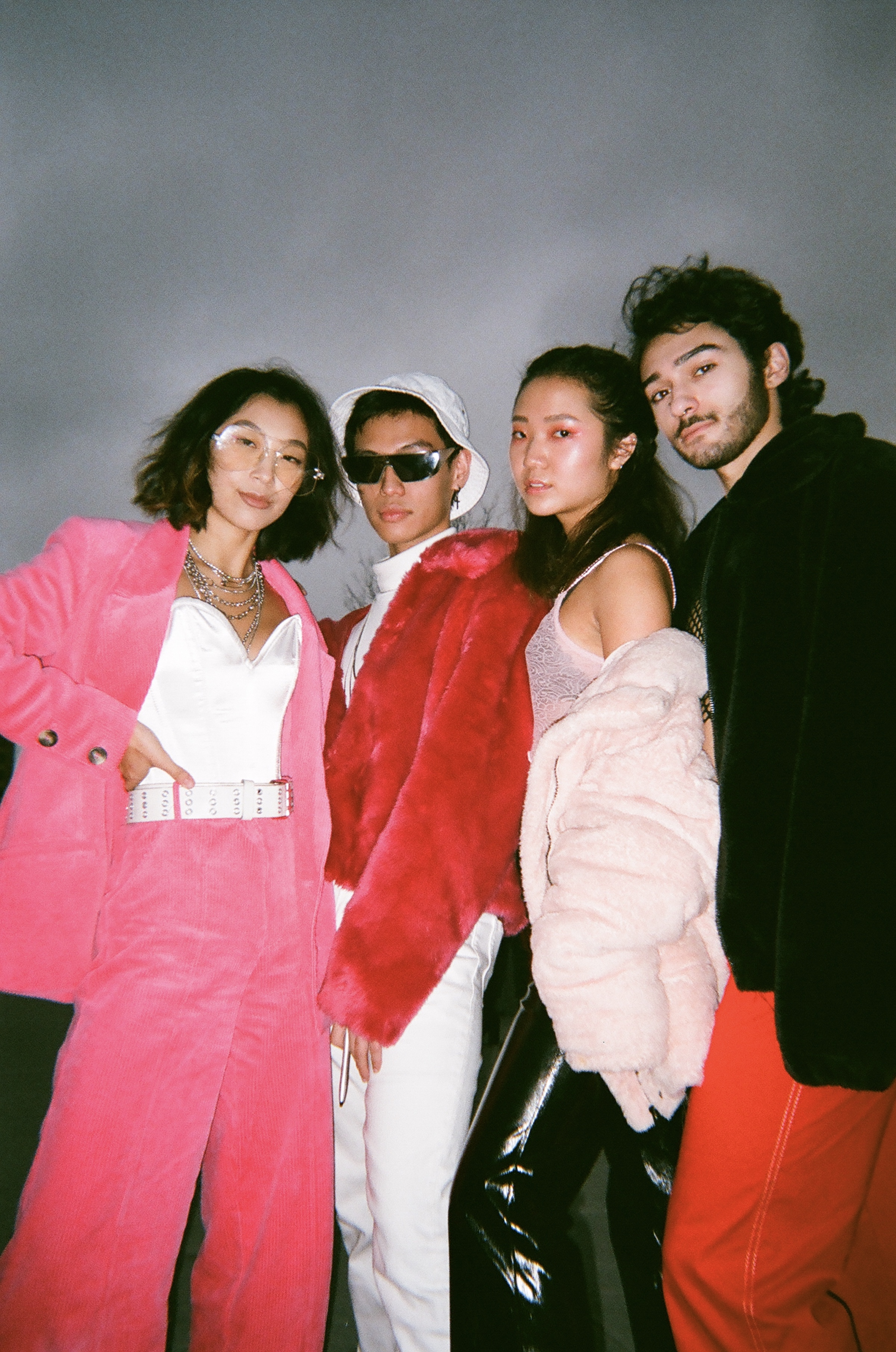 ELIZABETH WANG, MARC MANALOTO, ANNETTE YOO, ALEX AUCHUS AT ISSUE II RELEASE PARTY