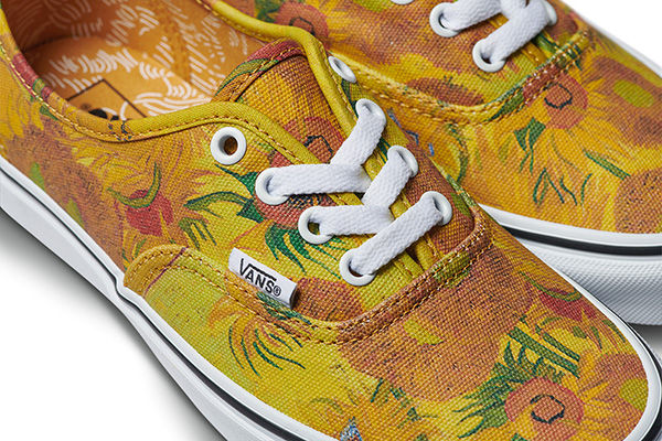 Vans x Vincent Van Gogh Authentic, $65,  Vans