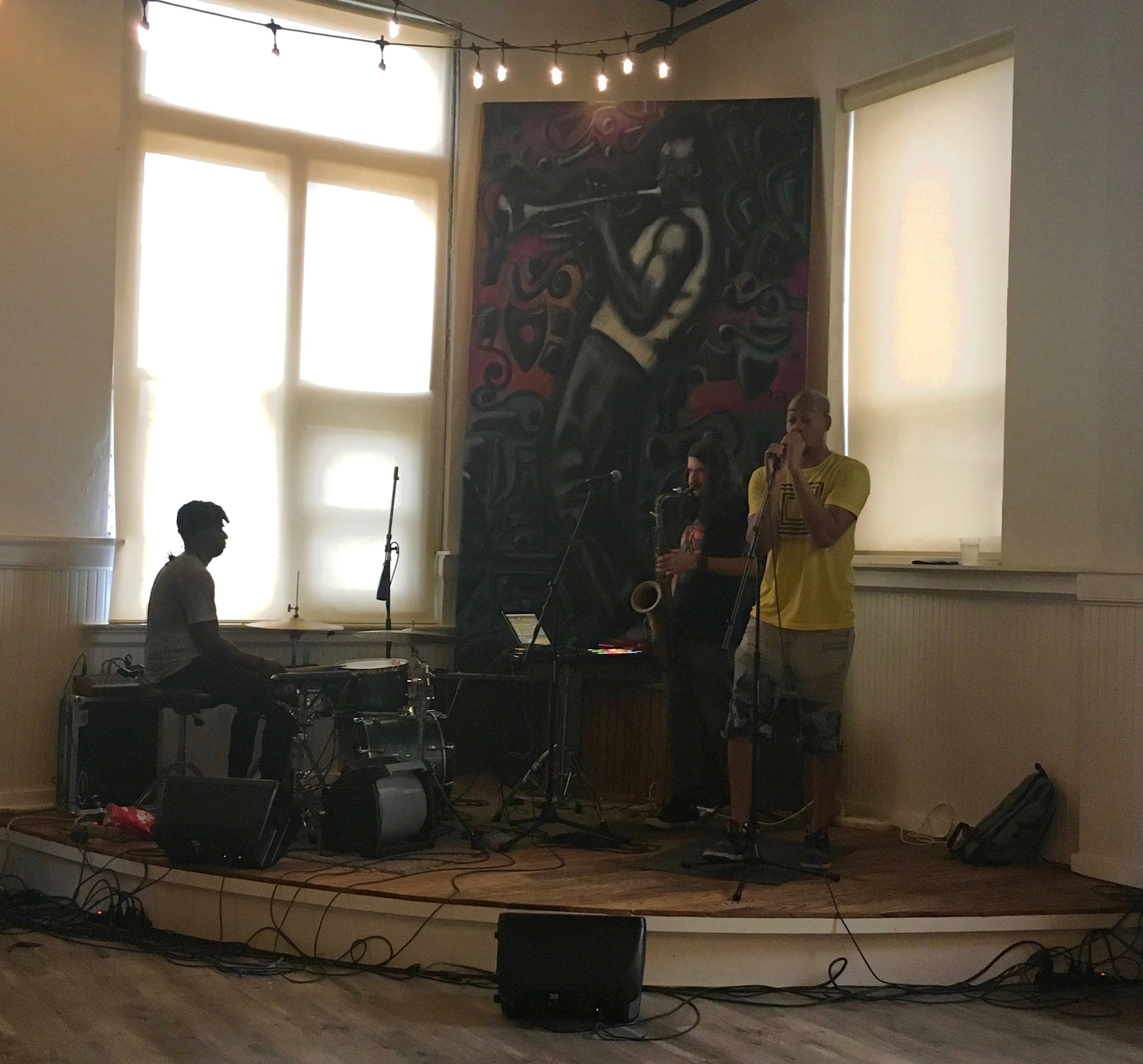 Post Commons hosted Blank Generation, a St. Louis band with groovy tunes. Photo by Rosita