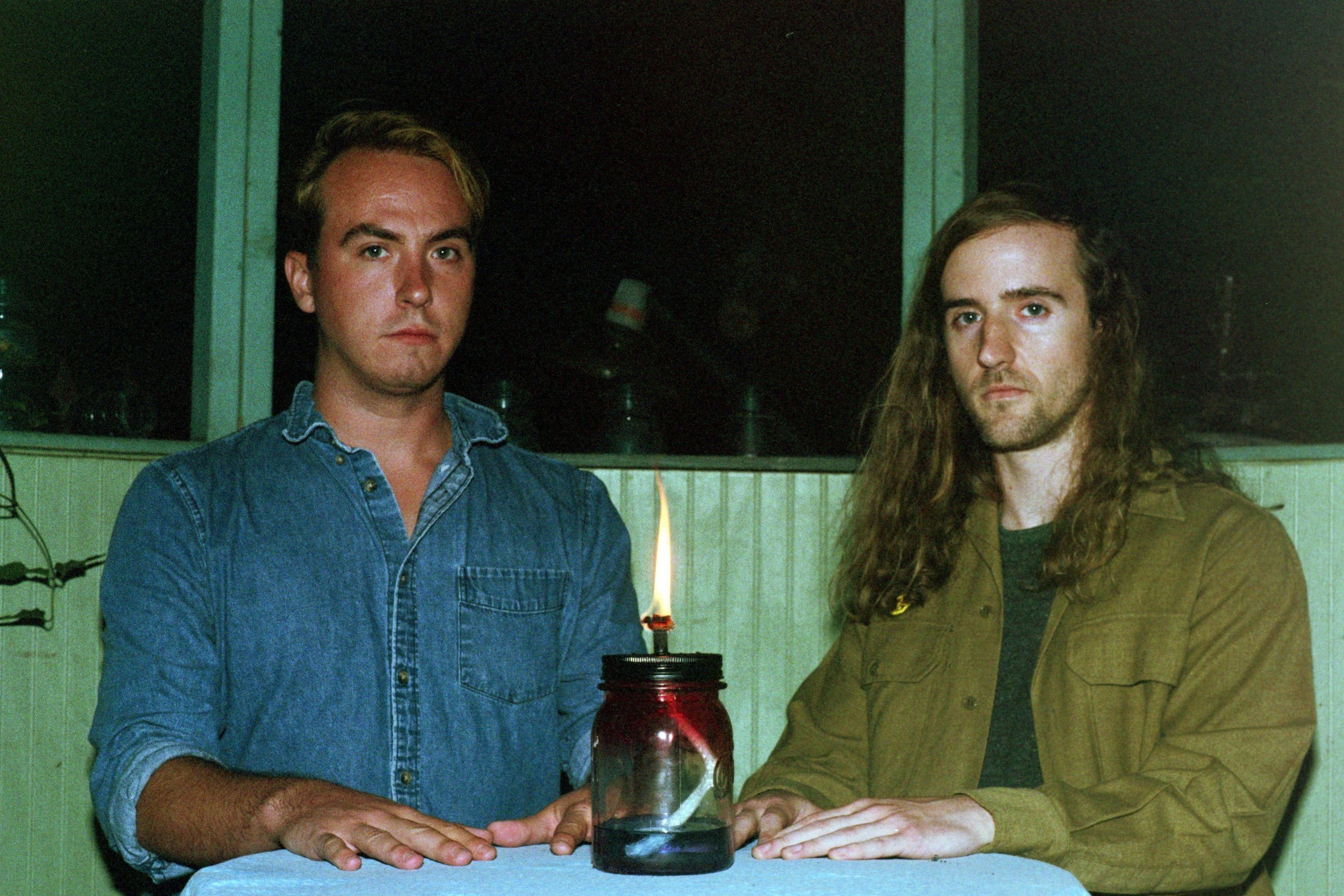 """Check out new Pono AM album """"Variety Hour."""" From left to right, Josh Friedrich and Kory Meyer, both on guitar and vocals.  Photographed by Jensen Jones"""