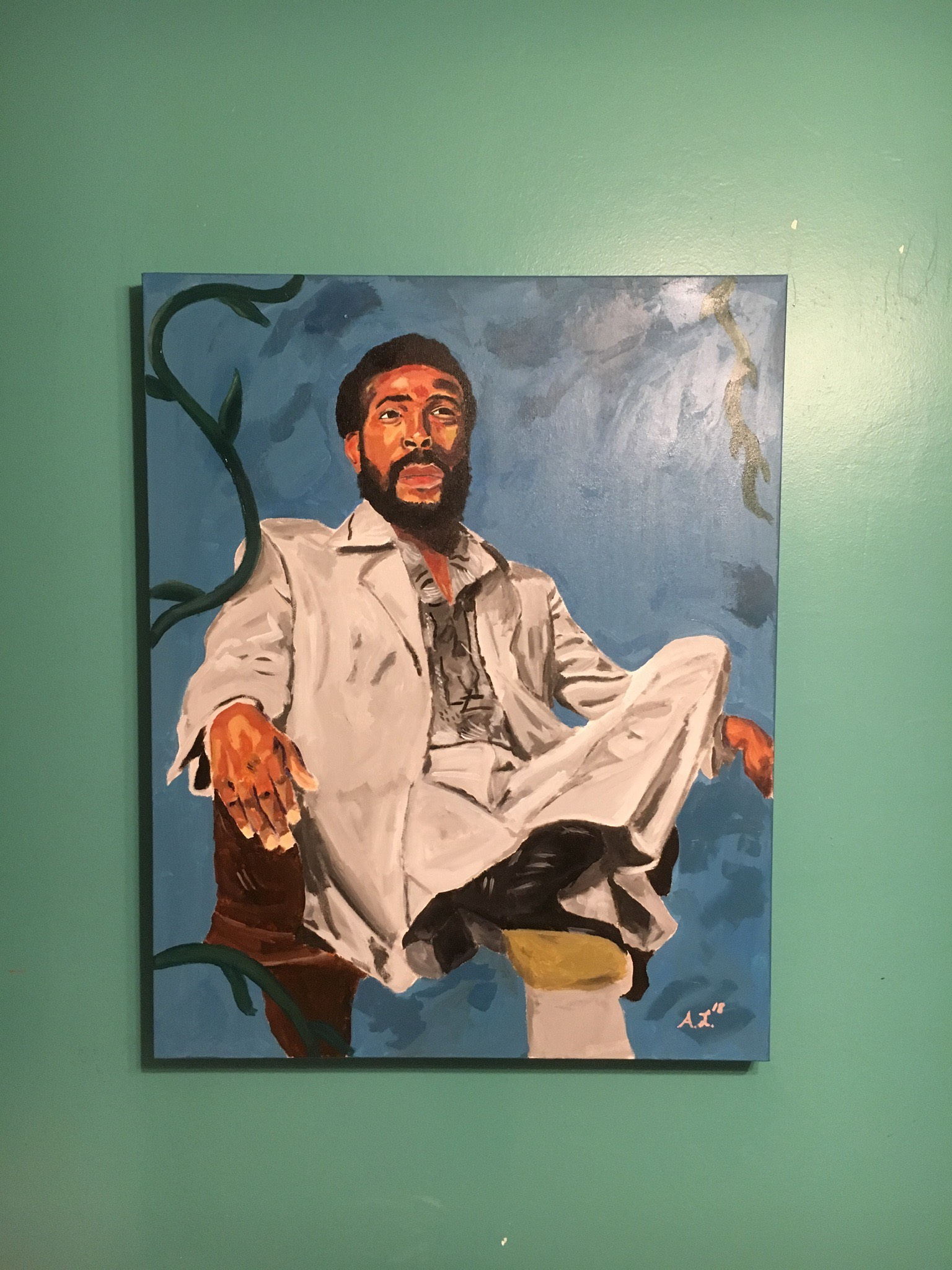 """Lewis' piece called """"Marv."""" Photo provided by Alvin J. Lewis"""